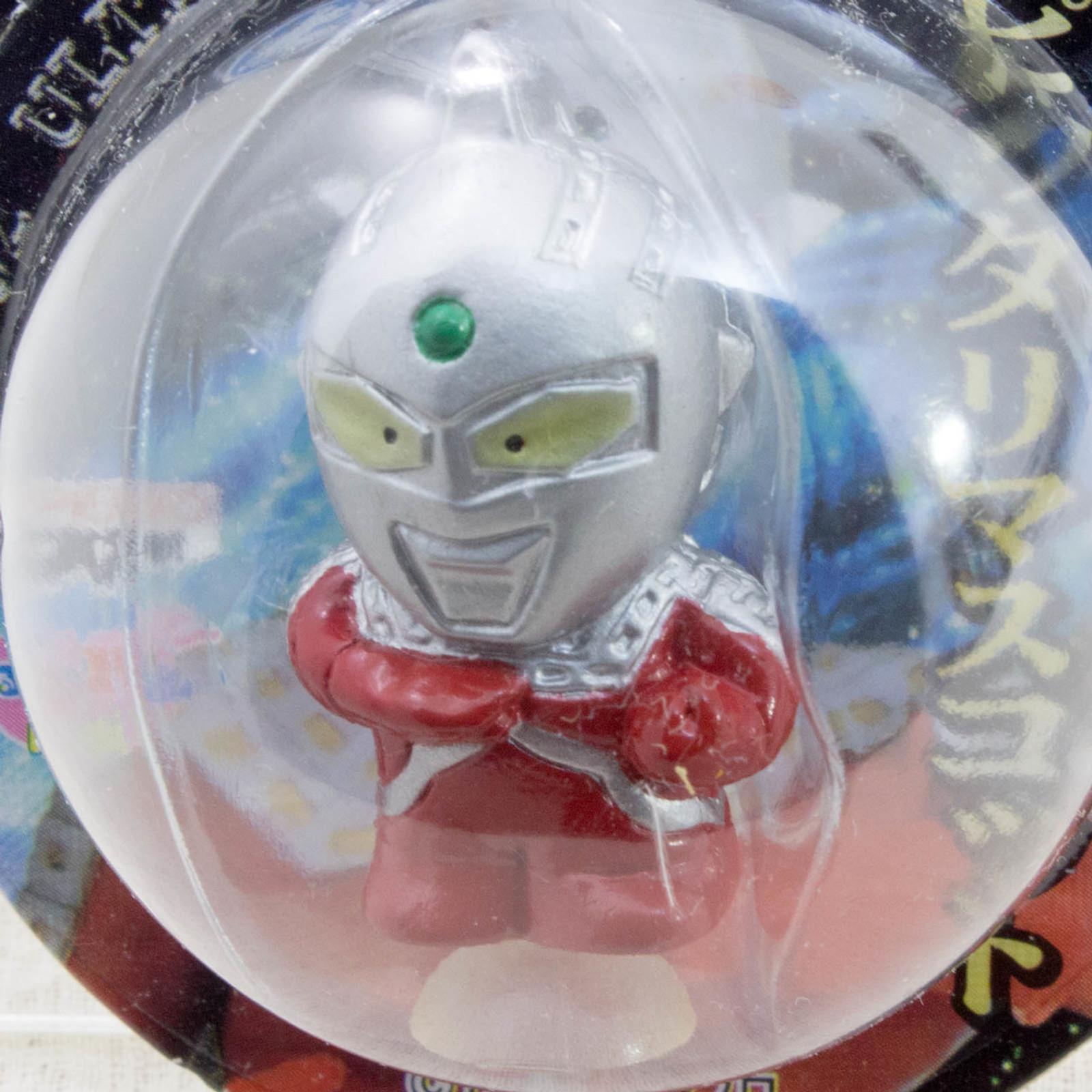 "Ultraman Seven 1.2"" Mini Figure with Sucker Tsuburaya JAPAN TOKUSATSU ANIME"