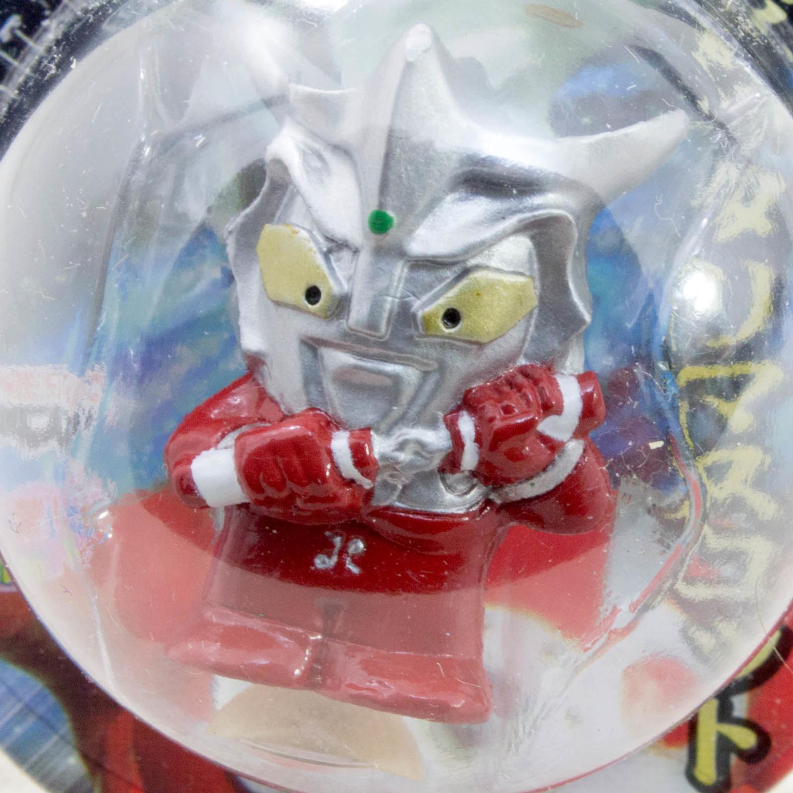 "Ultraman Leo 1.2"" Mini Figure with Sucker Tsuburaya JAPAN TOKUSATSU ANIME"