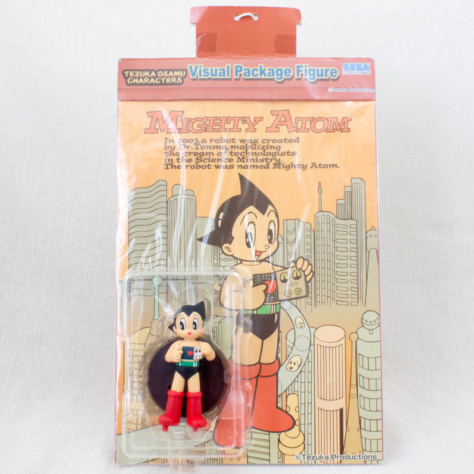 Astro Boy Atom Visual Package Figure Osamu Tezuka JAPAN ANIME MANGA