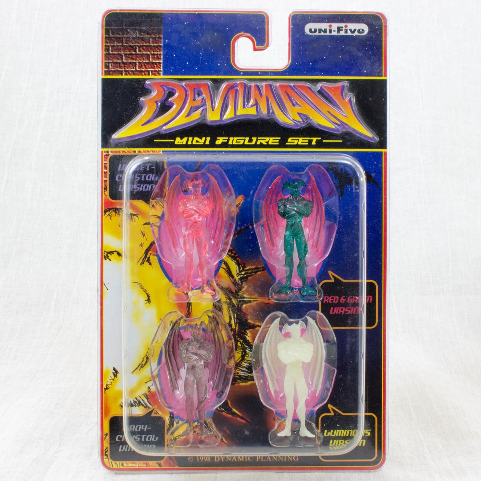 Devilman Clear Color Mini Figure 4pc Set Unifive JAPAN MANGA MANGA GO NAGAI
