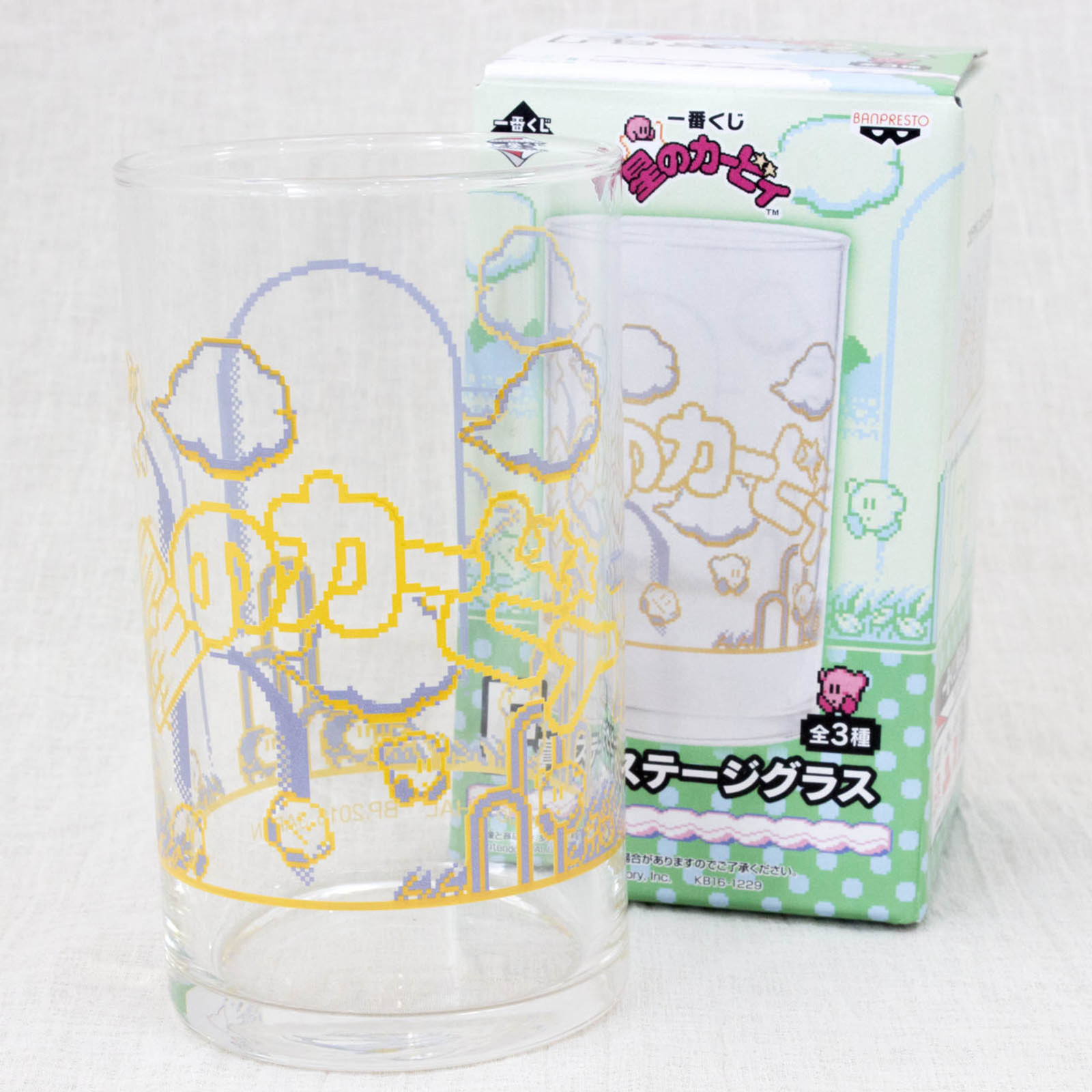 Kirby Super Star Glass Stage ver. Banpresto JAPAN GAME NINTNEDO