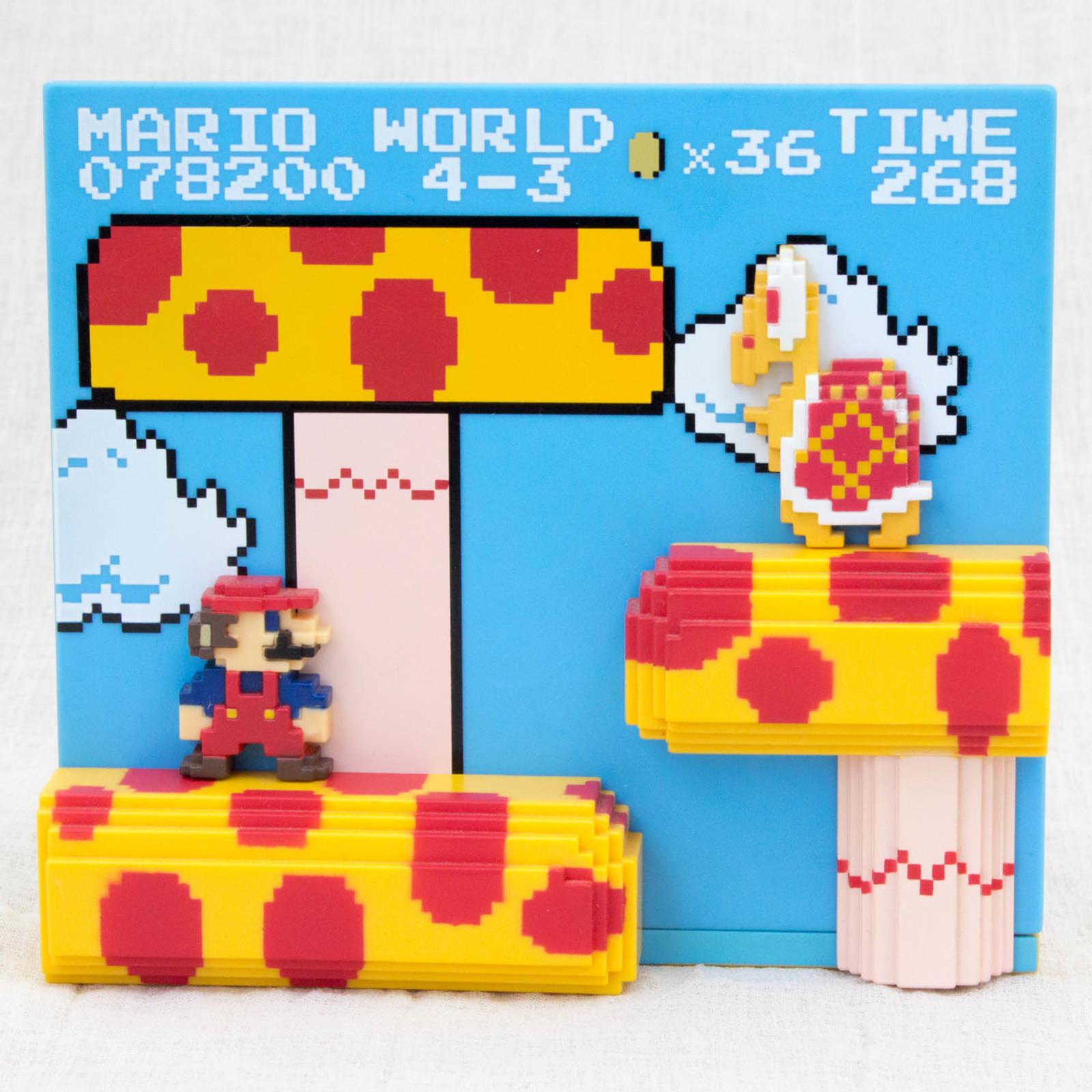 Super Mario Bros. Stage Figure 4-3 Nintendo Dotgraphics JAPAN NES FAMICOM