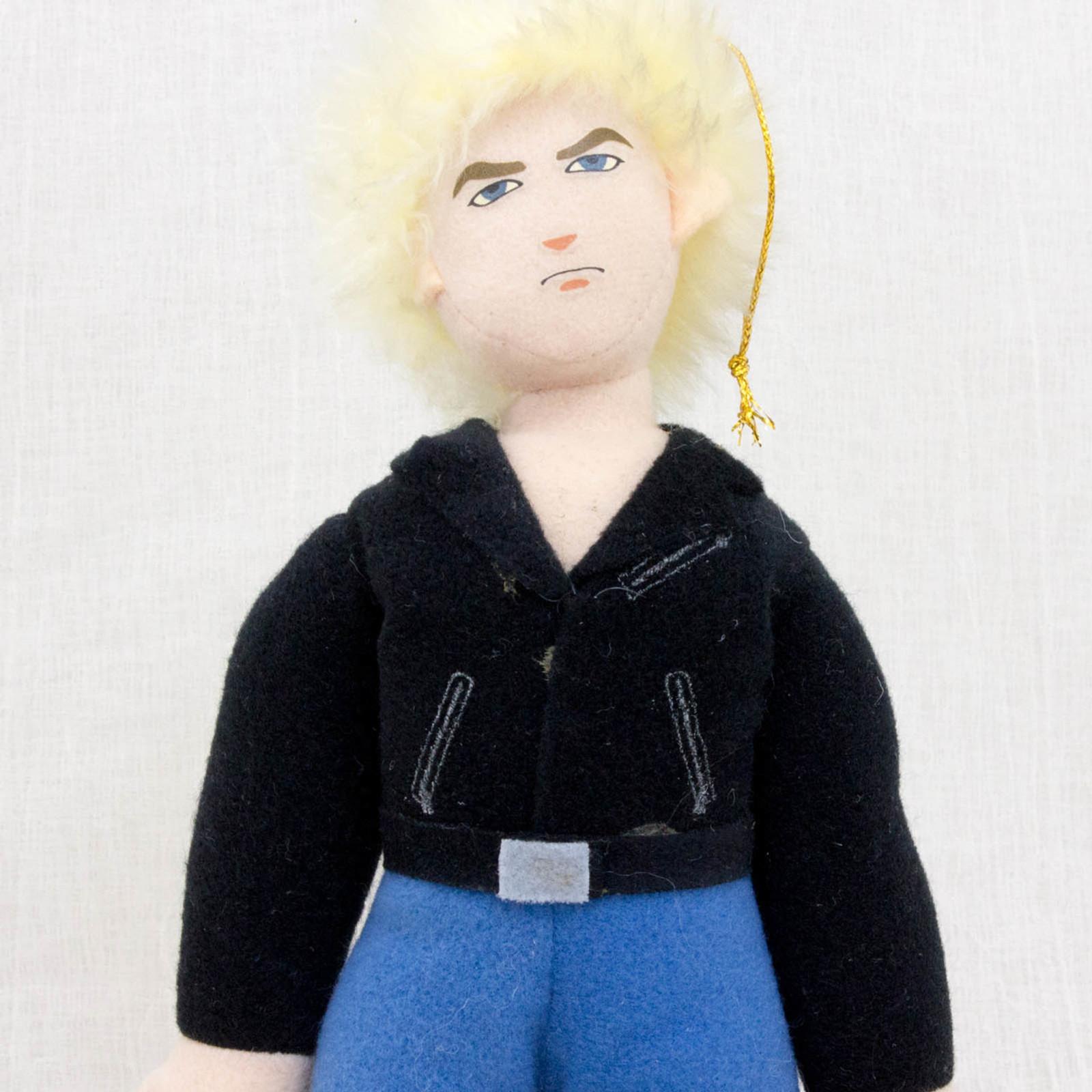 """Virtua Fighter 2 Jacky Bryant 10"""" Plush Doll SEGA 1995 JAPAN GAME FIGURE 2"""