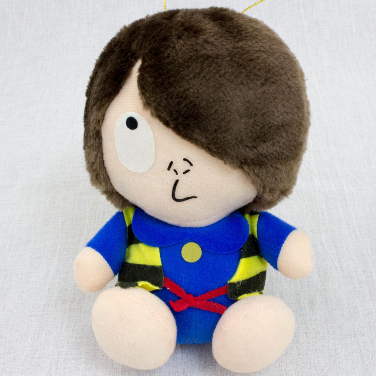 """RARE! Gegege no Kitaro KITARO 6"""" Plush Doll JAPAN ANIME YOKAI"""
