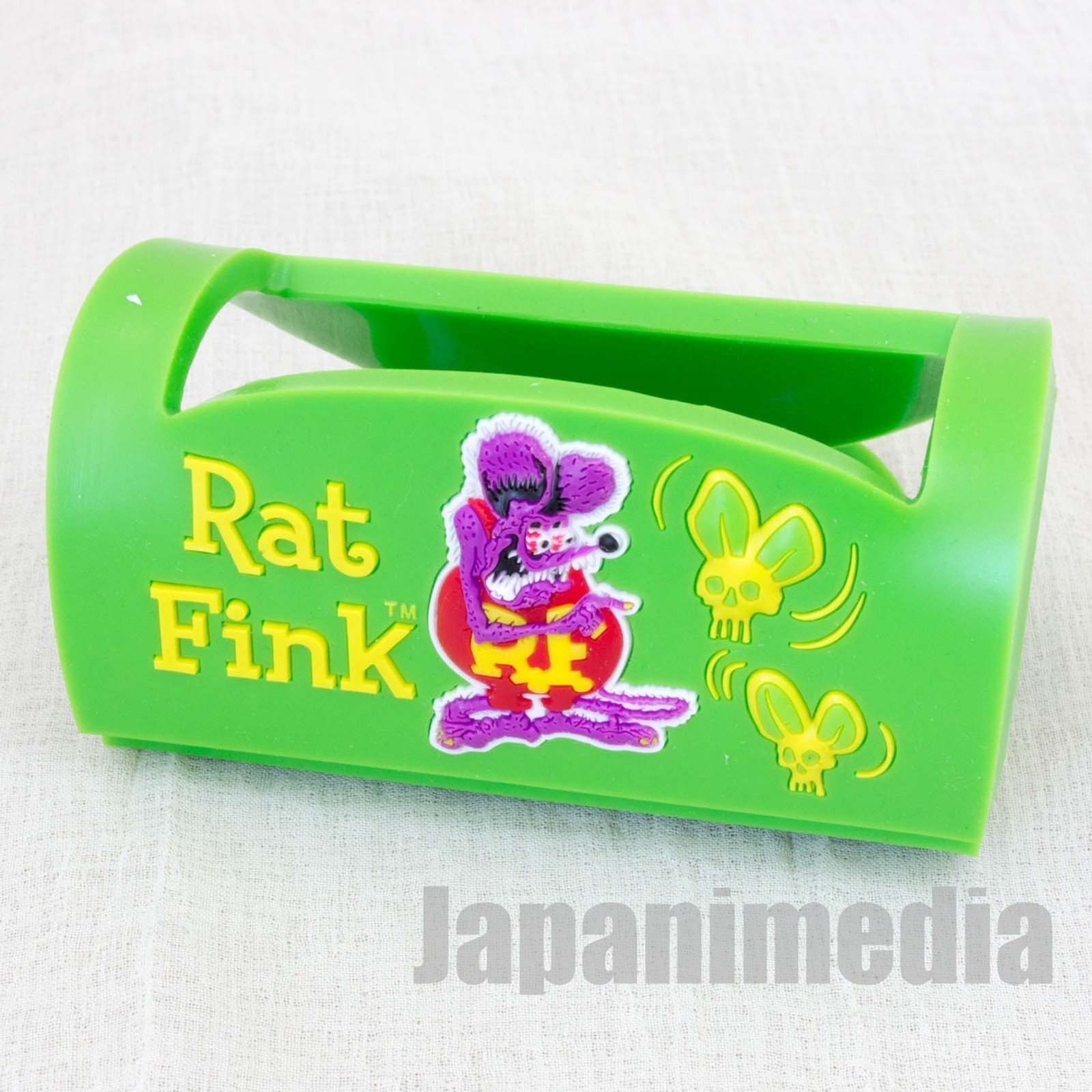 RAT FINK Rubber Multi Holder Smart Phone Stand Green Ver. ED ROTH MOONEYES