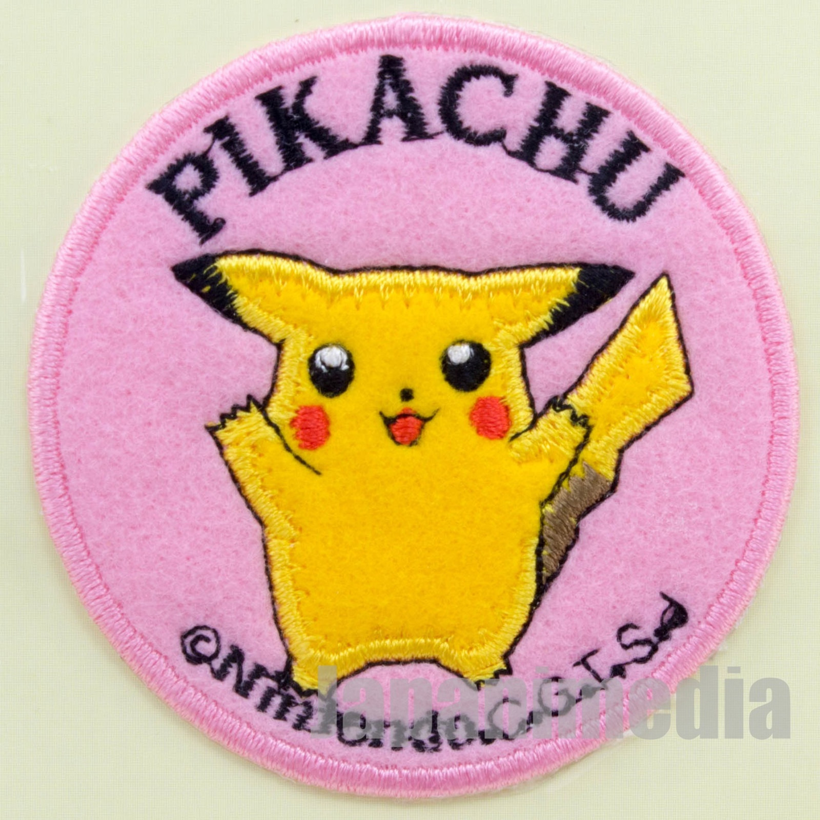 Pokemon Pikachu Interfacing Patch Badge Pocket Monsters JAPAN ANIME GAME 2
