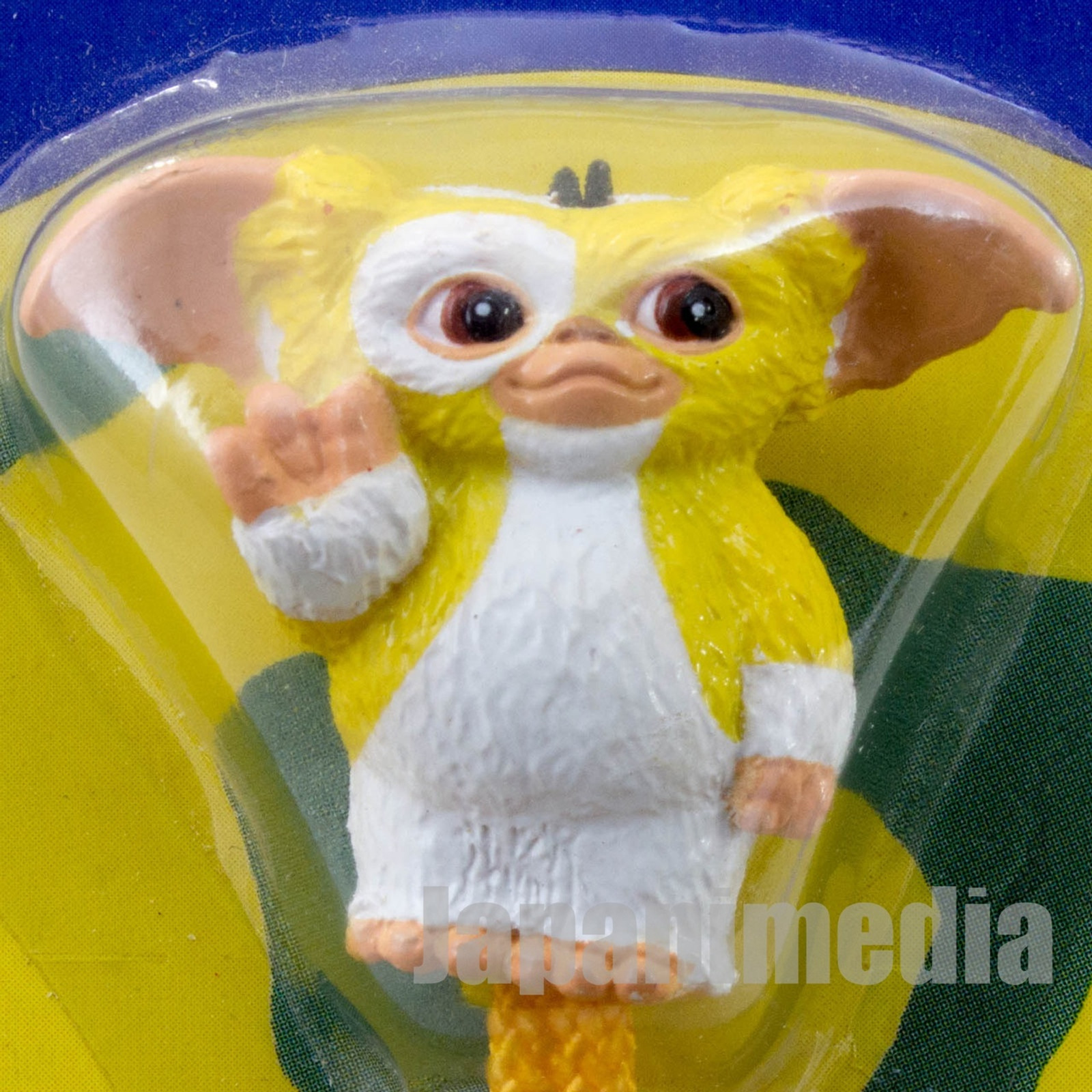Gremlins 2 The New Batch Gizmo Yellow Figure Mobile Strap Jun Planning JAPAN