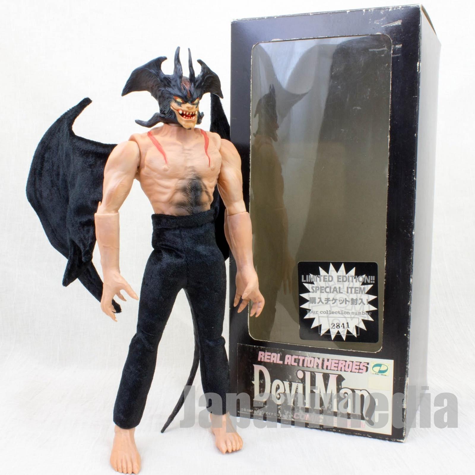 Devilman Comics Ver. Figure Real Action Hero RAH Medicom Toy JAPAN ANIME MANGA