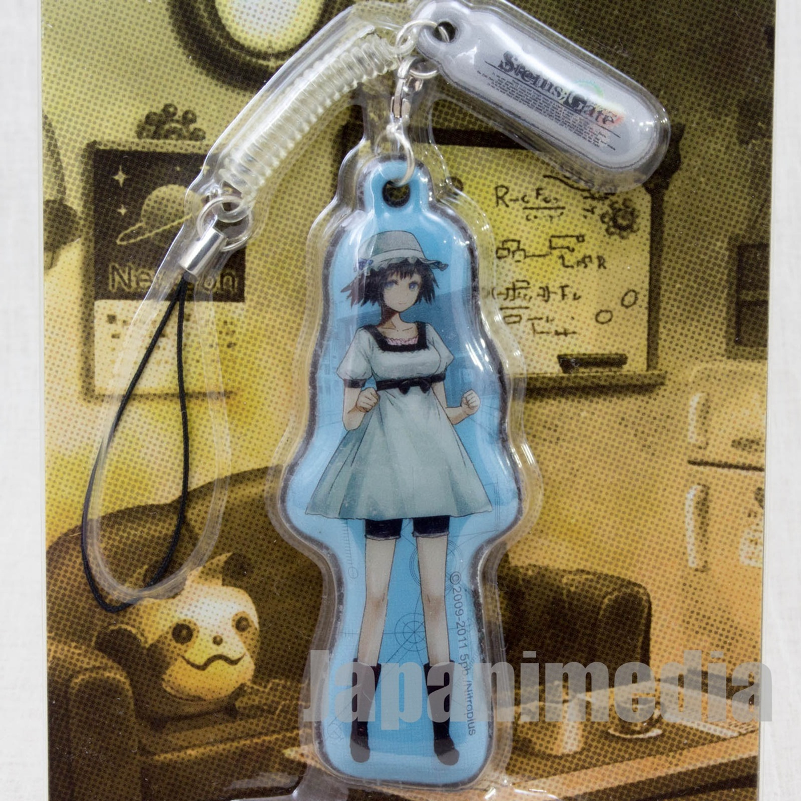 Steins ; Gate Mayuri Shiina Display Cleaner Mascot Strap Taito JAPAN ANIME