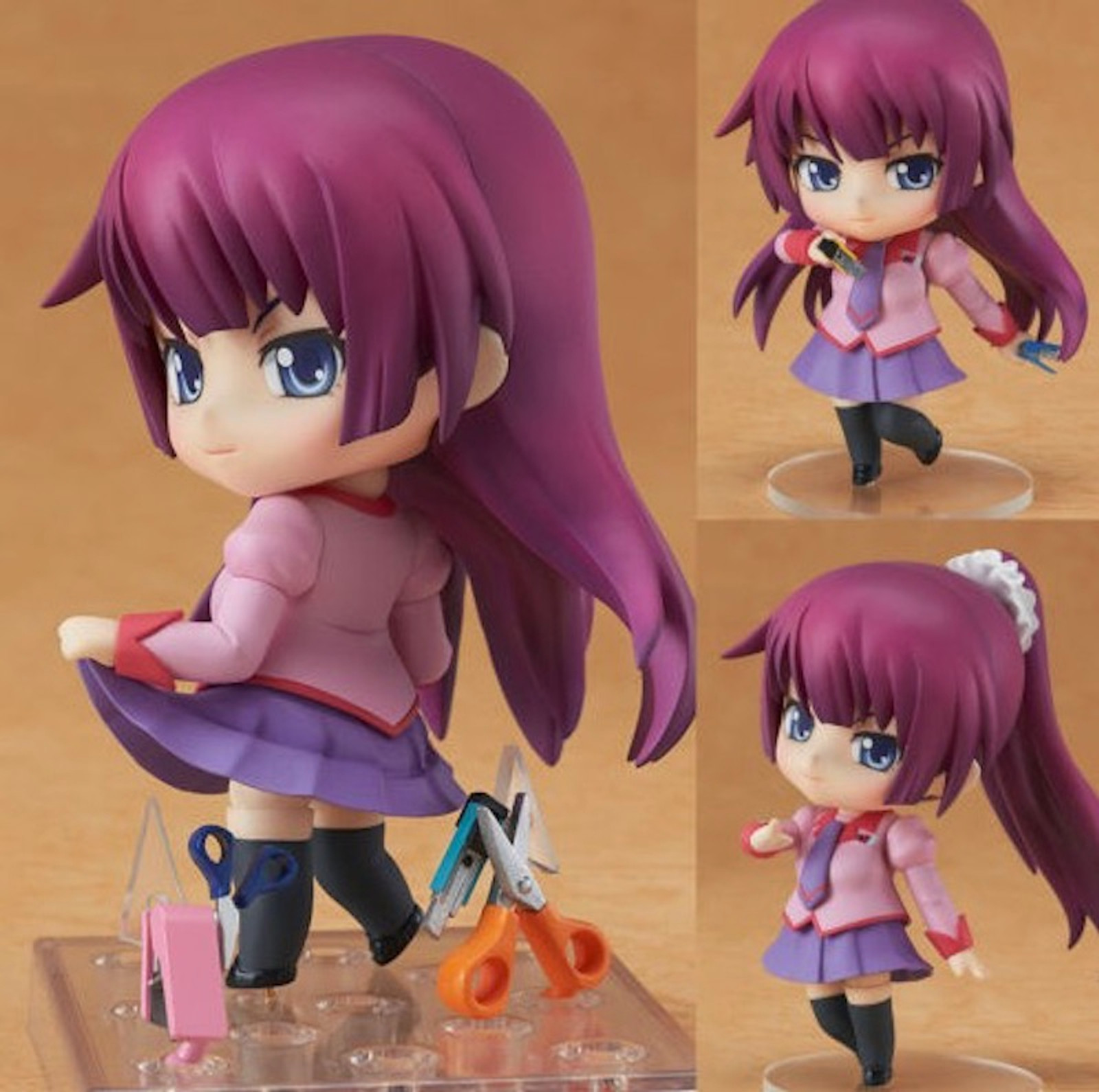Bakemonogatari Senjogahara Hitagi Premium Box Set Nendoroid Figure JAPAN ANIME Tracking number: