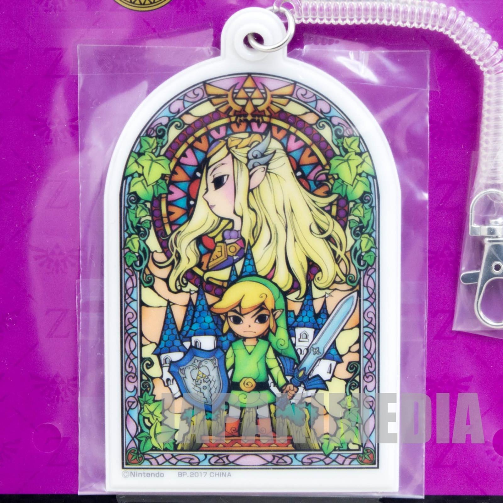 Legend of Zelda Card Case Strap Banpresto JAPAN FAMICOM NES NINTENDO 2