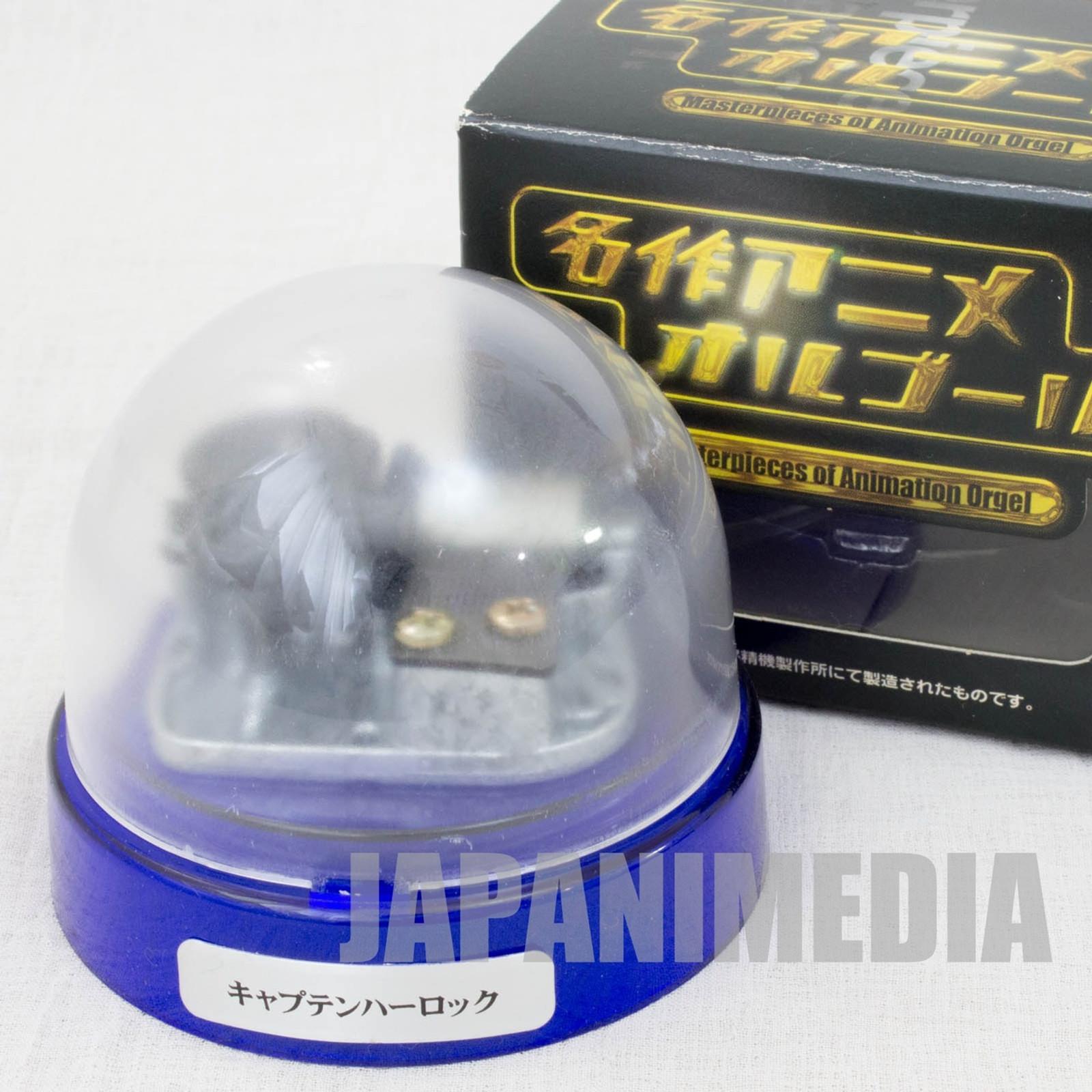 RARE! Space Pirates Captain Harlock Music Box TV Opening Theme Song JAPAN ANIME