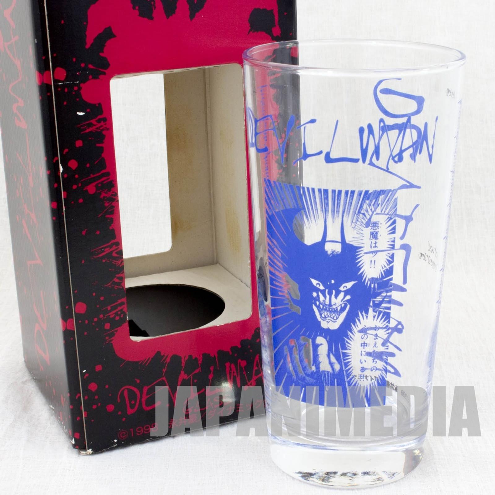 Devilman Comic Blue Ver. Glass Go Nagai SK JAPAN ANIME MANGA