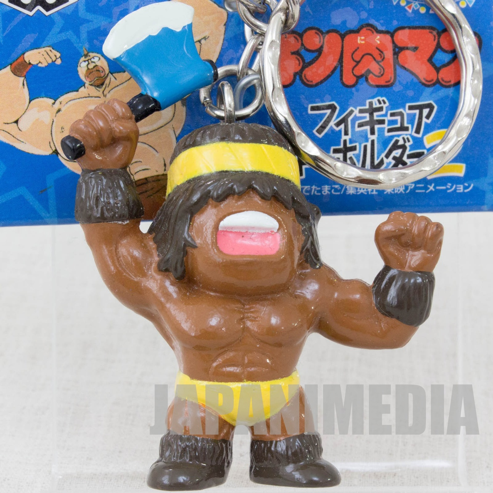 Kinnikuman Geronimo Figure Key Chain Ultimate Muscle JAPAN ANIME MANGA