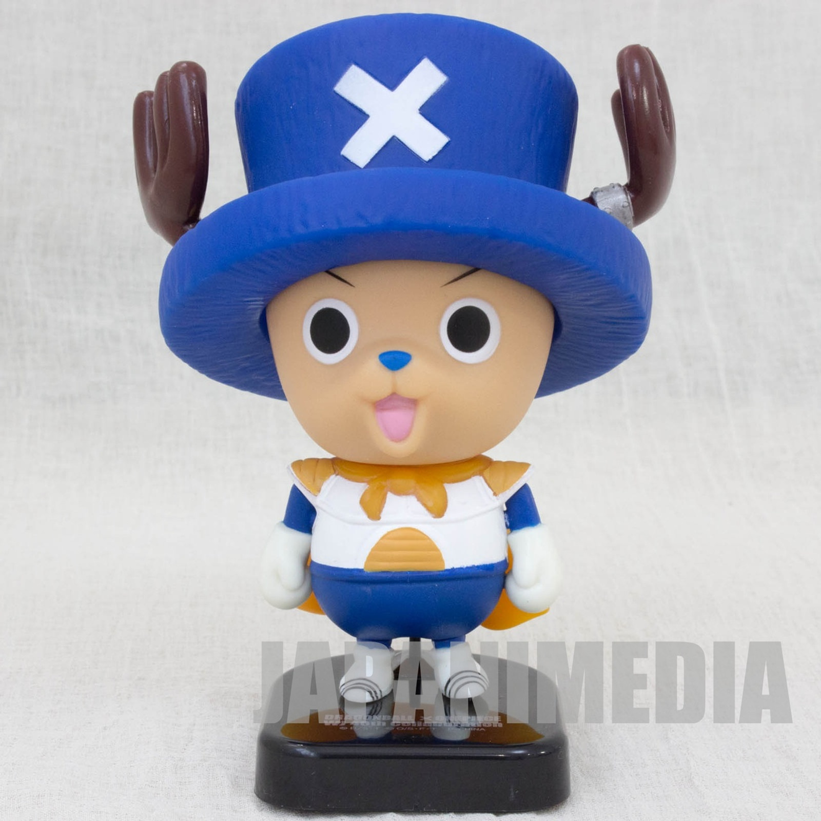 Dragon Ball Z x One Piece Chopper Man x Vegeta Sofubi Figure JAPAN ANIME