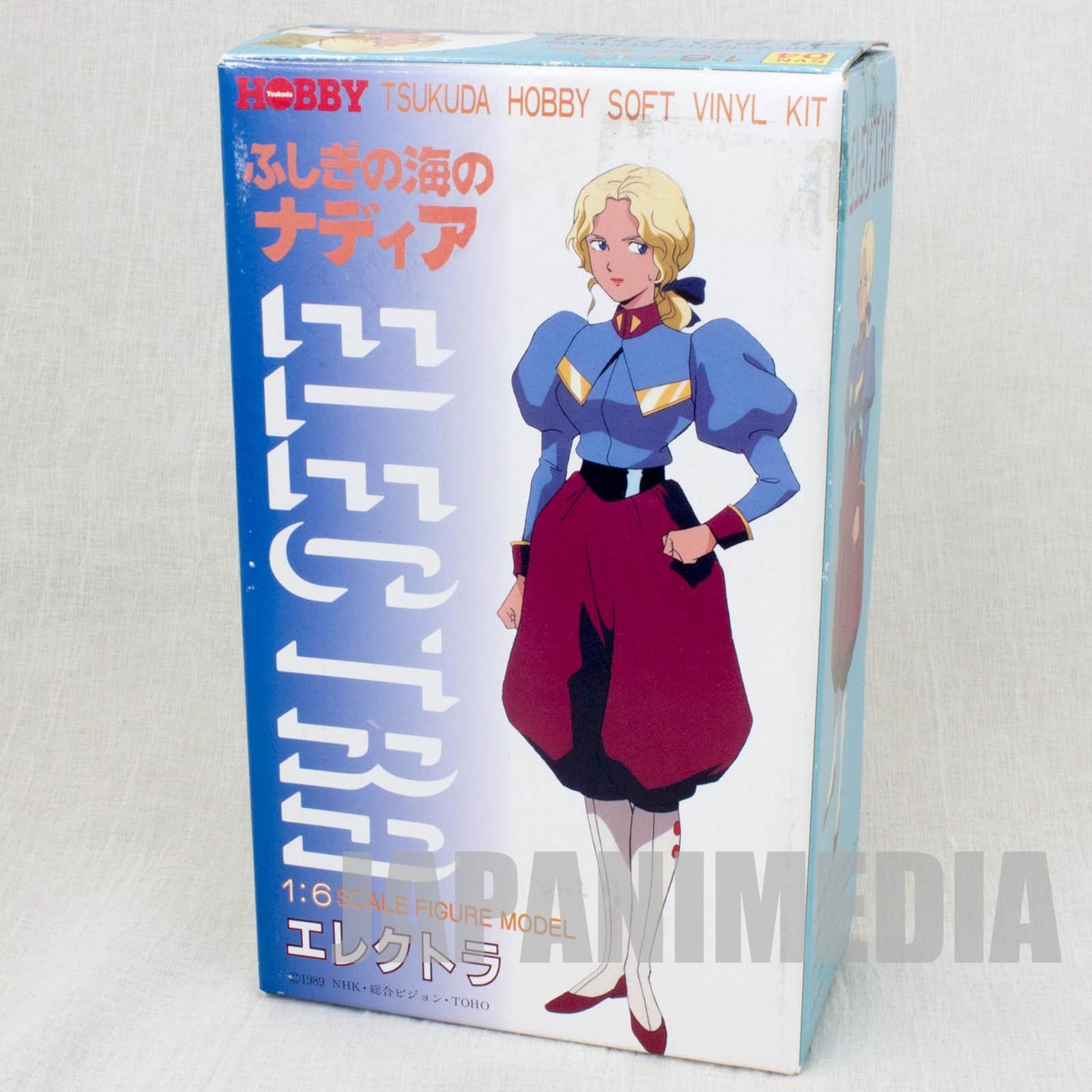 The Secret of Blue Water Nadia Electra 1/6 Soft Vinyl Model Kit Tsukuda Hobby