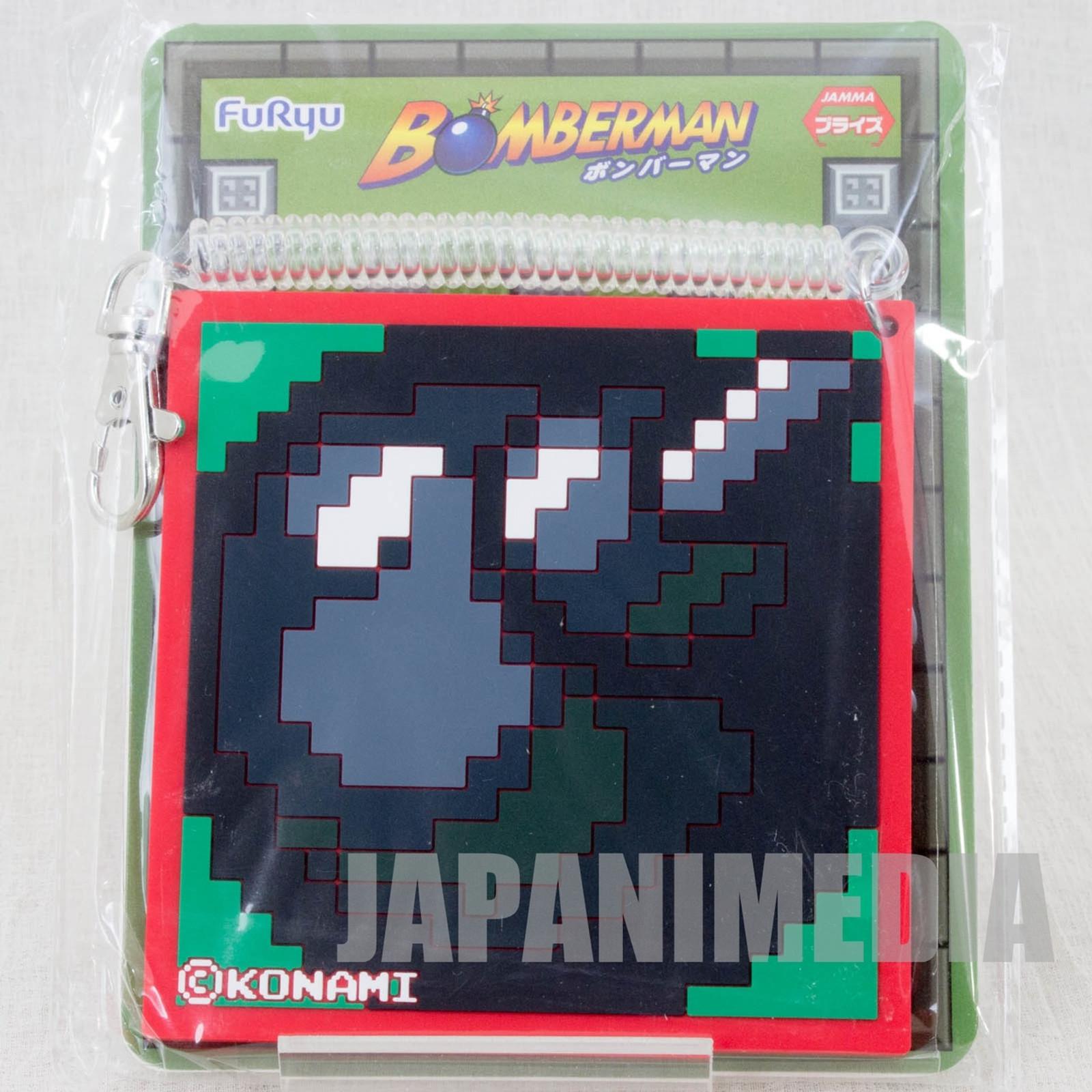 Bomber Man Bomb Up Rubber Pass Case Furyu Nintendo JAPAN NES Famicom
