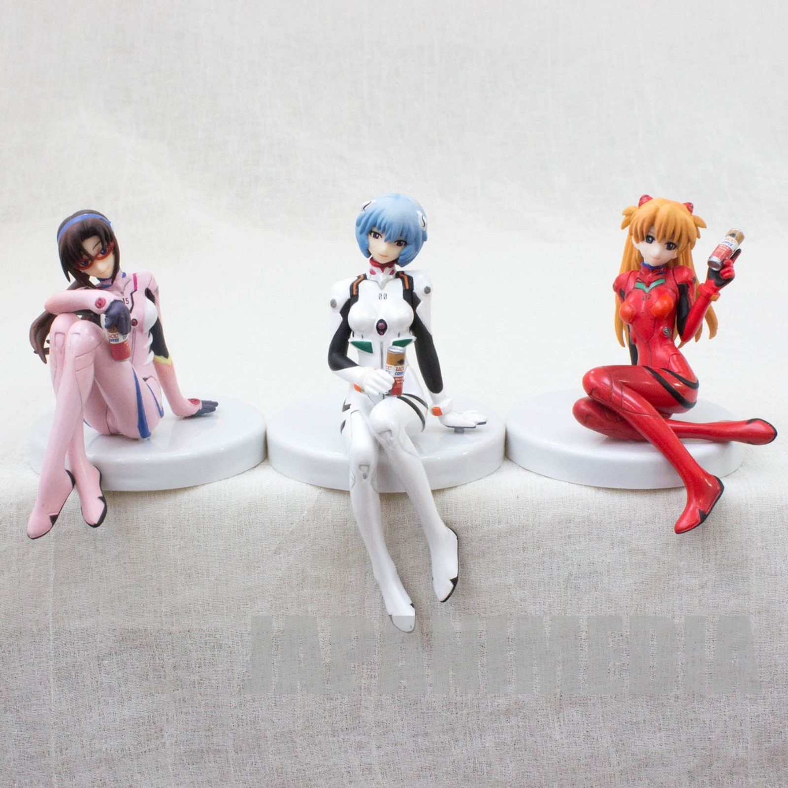 Set of 3 Evangelion Figure Rei Ayanami Asuka Langley Mari Kotobukiya JAPAN ANIME