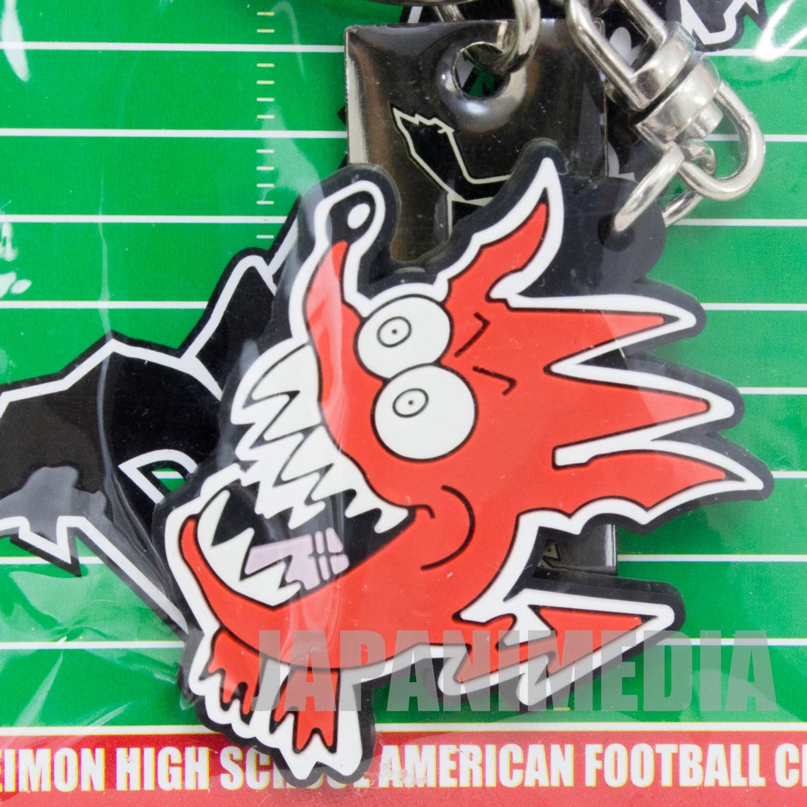 Eyeshield 21 DEVILBAT DEIMON DEVILBATS Rubber Key Chain JAPAN ANIME MANGA