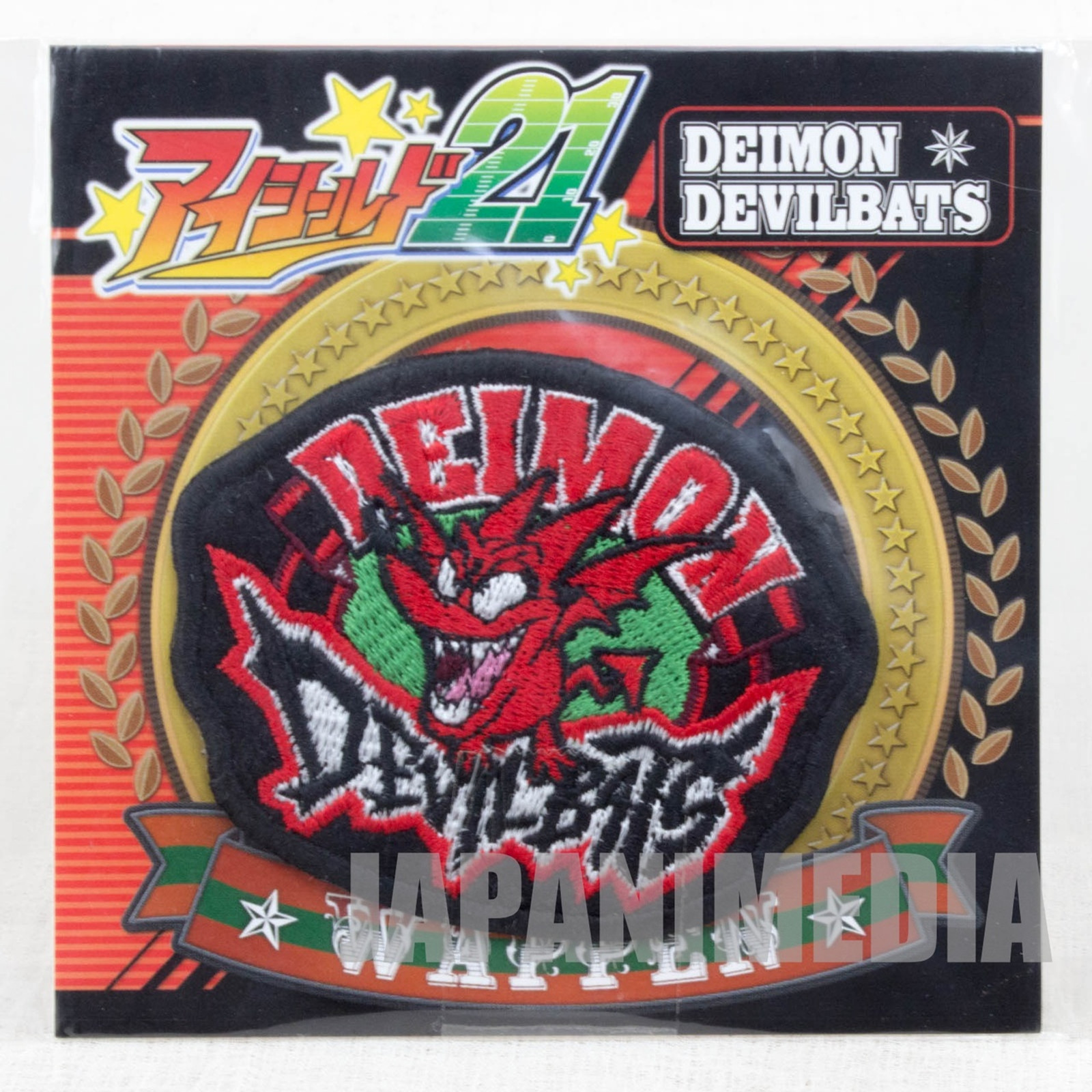 Eyeshield 21 DEVILBAT DEIMON DEVILBATS Patch Wappen JAPAN ANIME MANGA