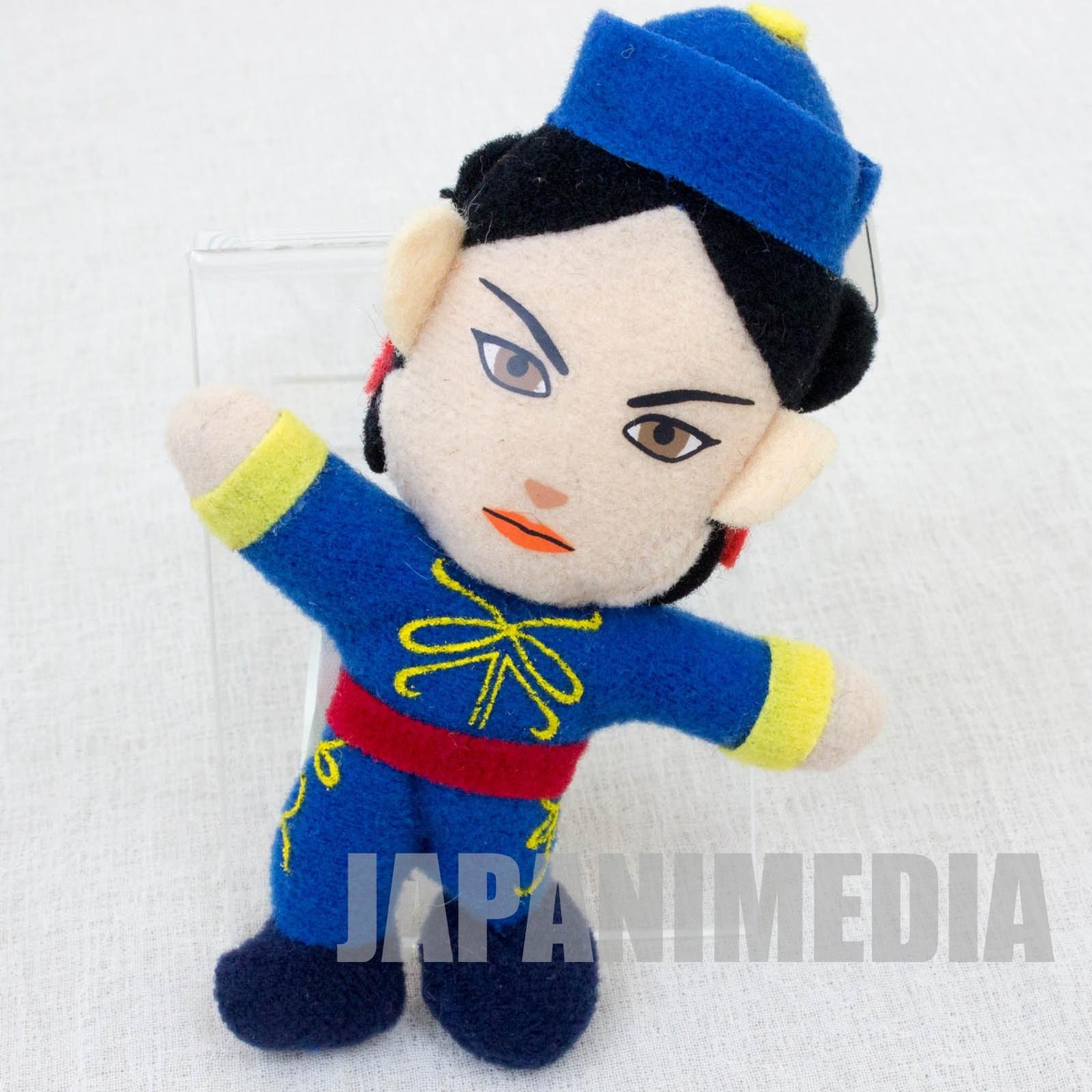 """Virtua Fighter 2 Pai Chain 3.5"""" Mini Plush Doll SEGA 1995 JAPAN GAME 2"""