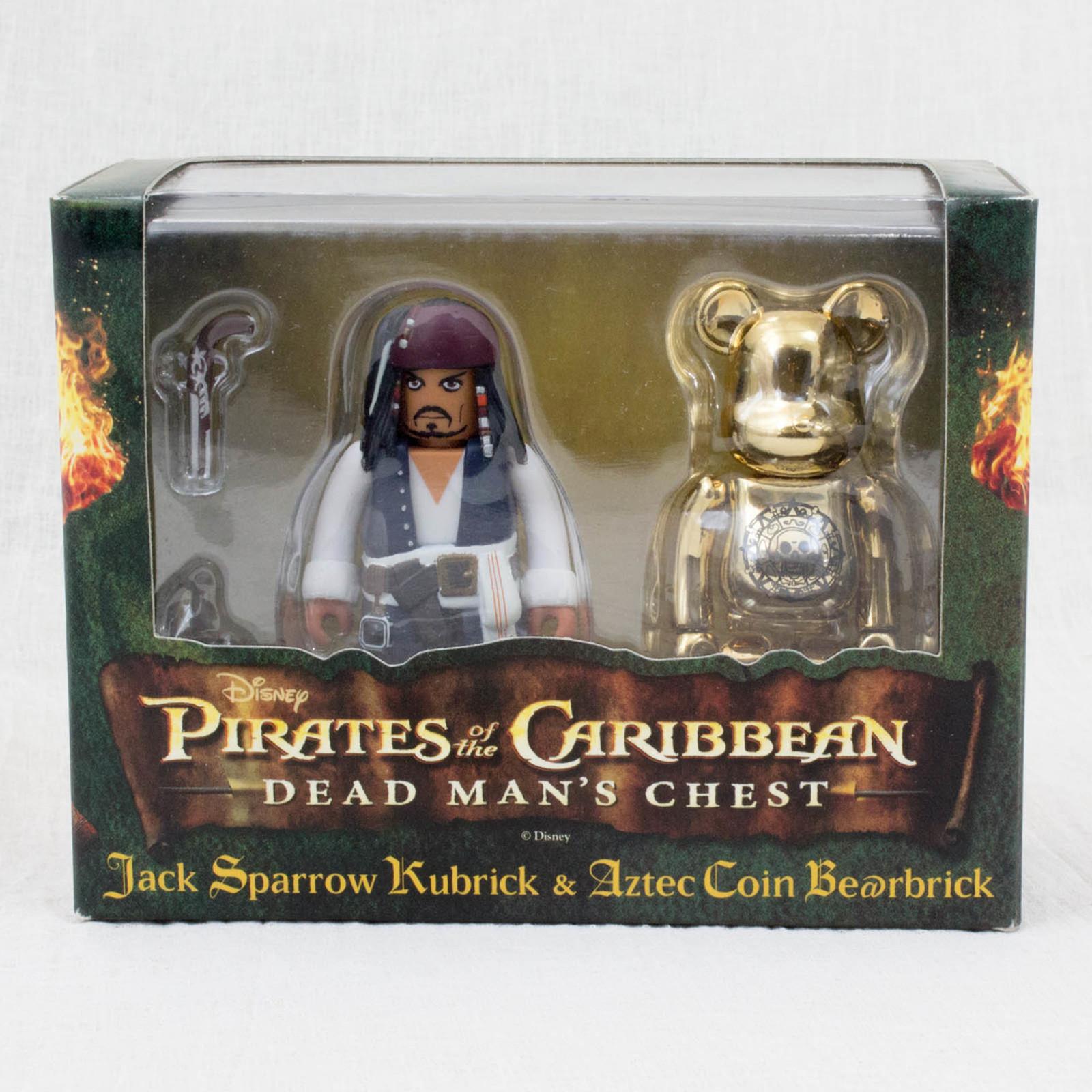 Pirates of the Caribbean Be@rbrick Kubrick Set Figure Medicom Toy JAPAN