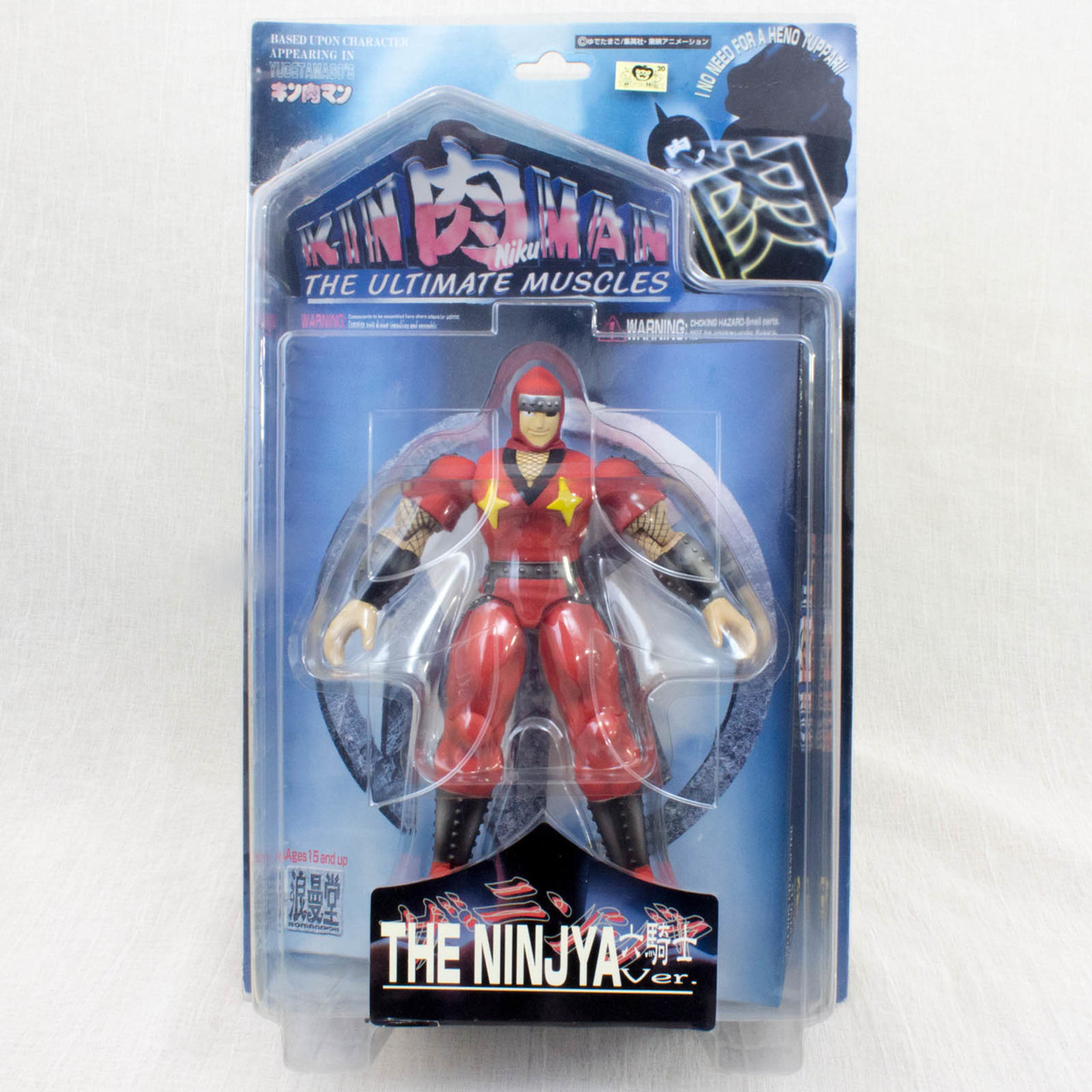 KINNIKUMAN THE NINJA Rokkishi Red ver Romando PVC Action Figure JAPAN ANIME