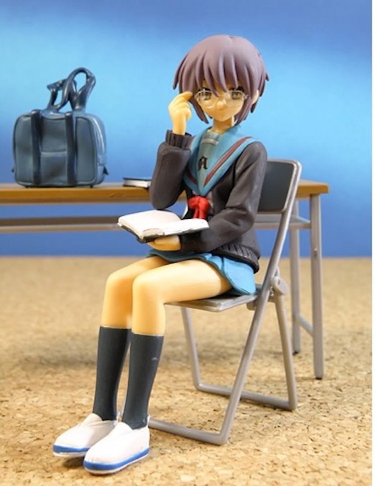 Melancholy of Haruhi Suzumiya no Yuutsu Yuki Nagato Class Room Diorama Figure