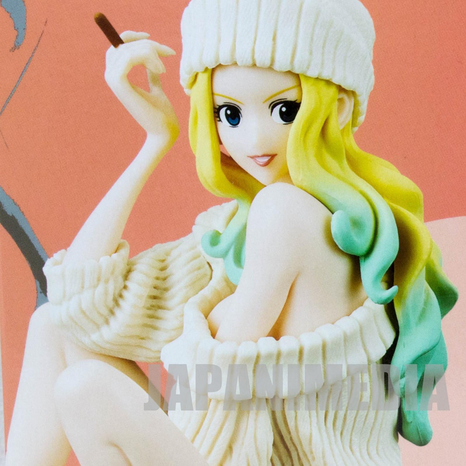 Lupin the 3rd Rebecca Rossellini Groovy Baby Shot Figure White Banpresto JAPAN