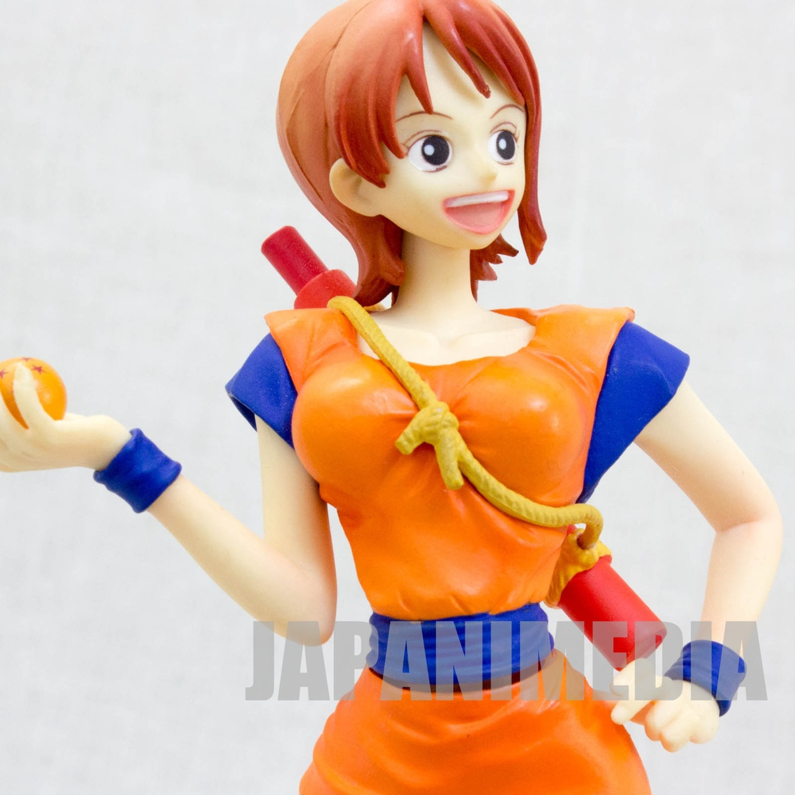 Dragon Ball Z x ONE PIECE Nami 40th Anniversary DX Figure Banpresto JAPAN ANIME 2
