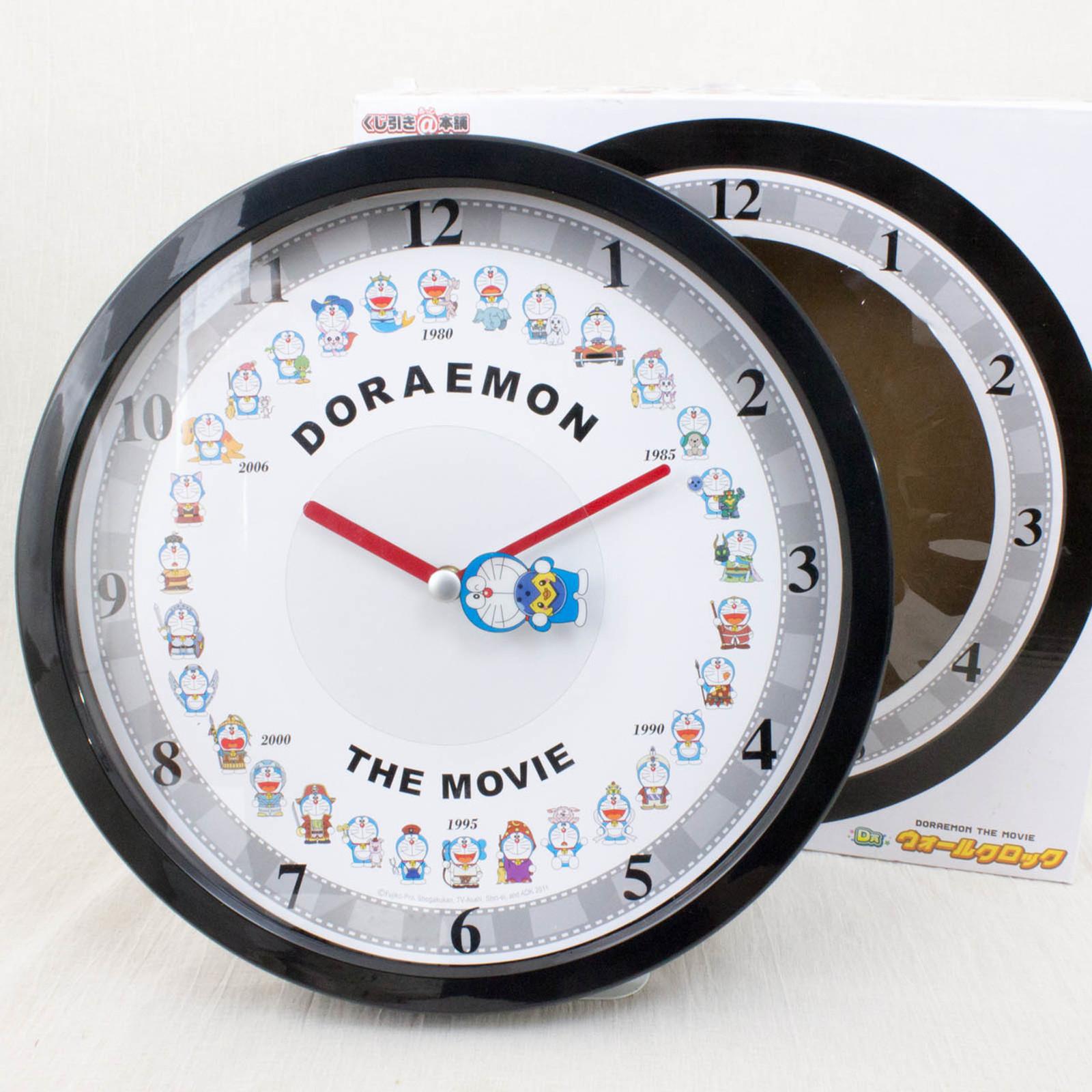 Doraemon The Movie Wall Clock Taito JAPAN ANIME MANGA
