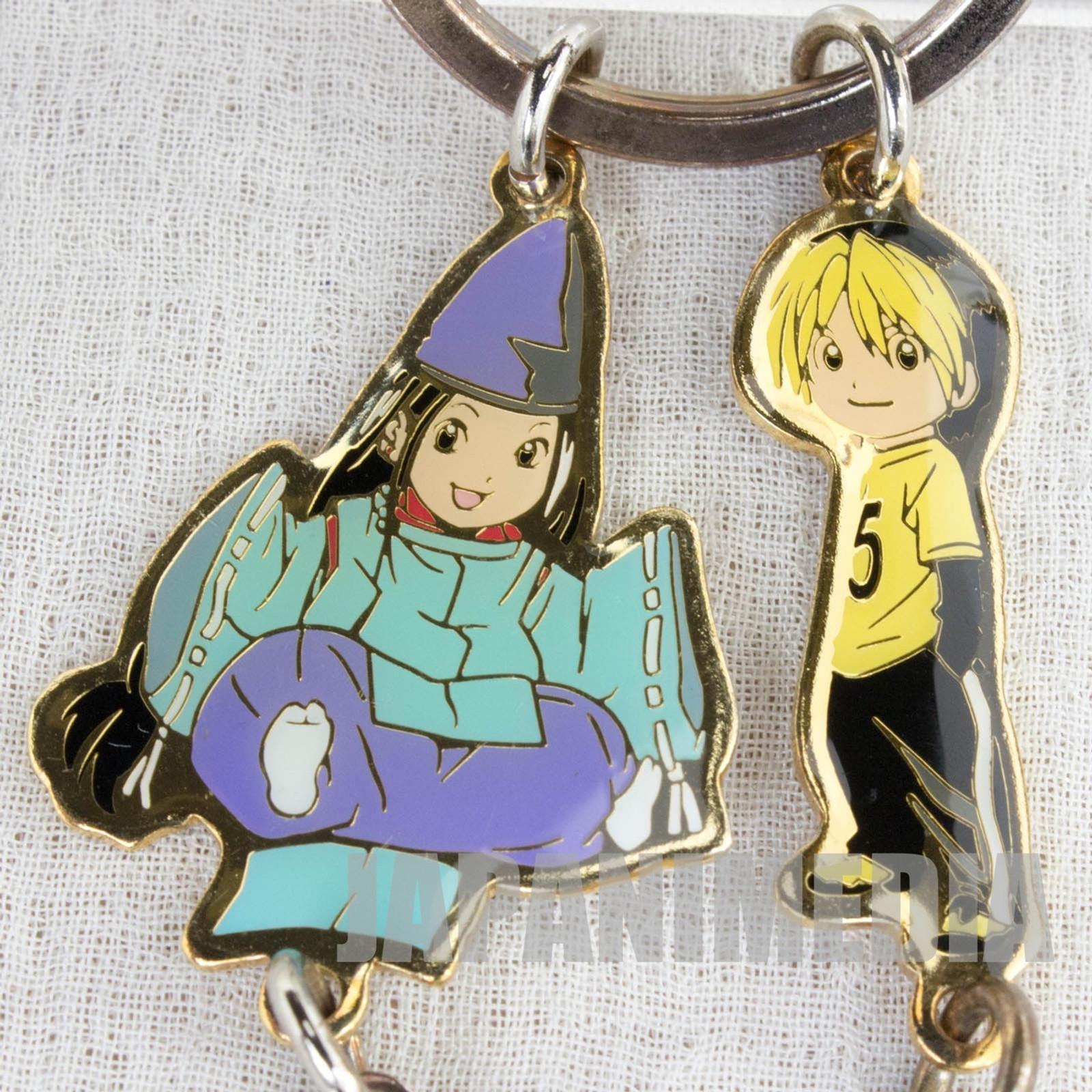 Hikaru no Go Hikaru Shindo & Sai Fujiwara Metal Key Chain Jump Festa 2002 JAPAN