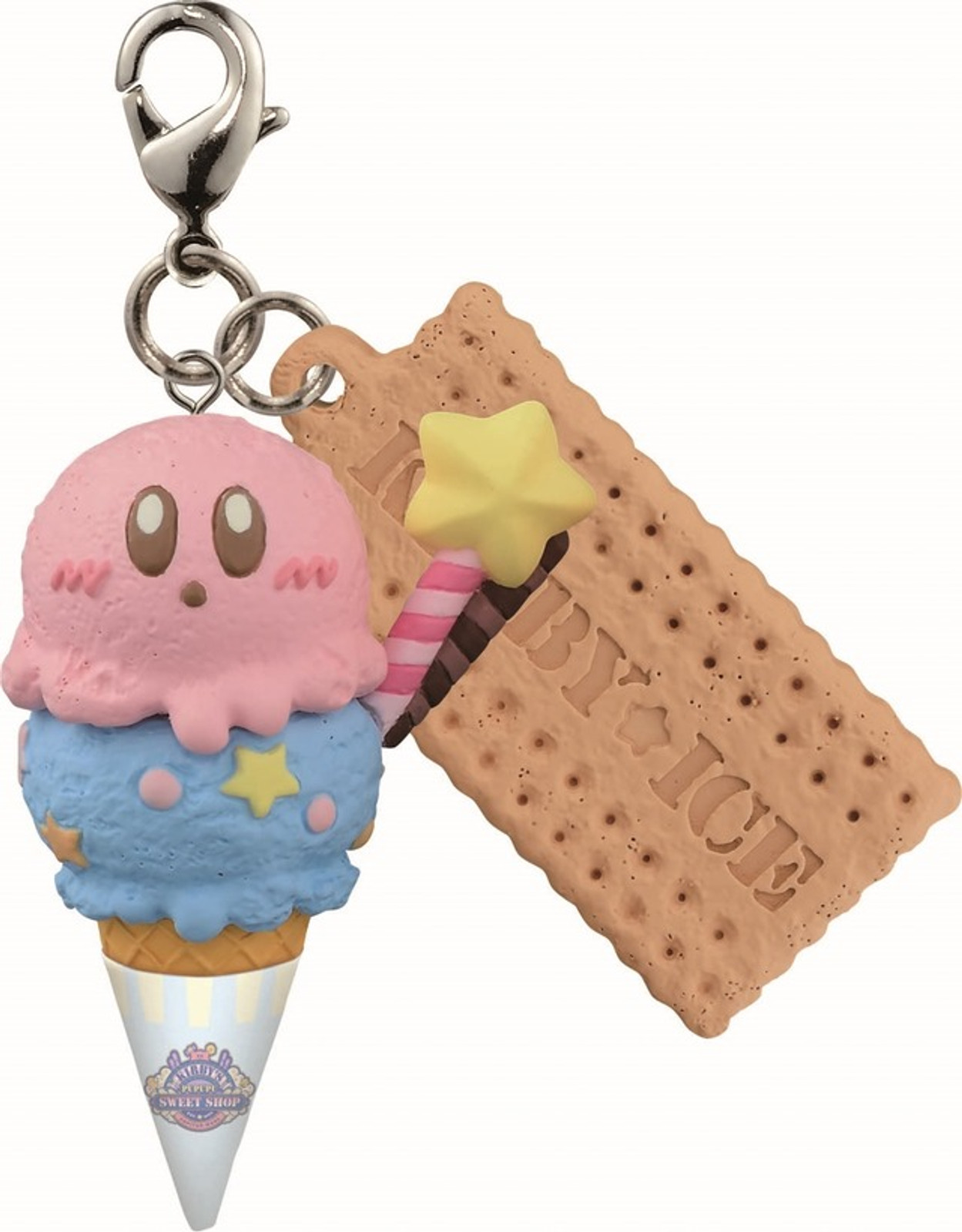 Kirby Super Star Figure Mascot Kirby Ice Cream Series JAPAN GAME