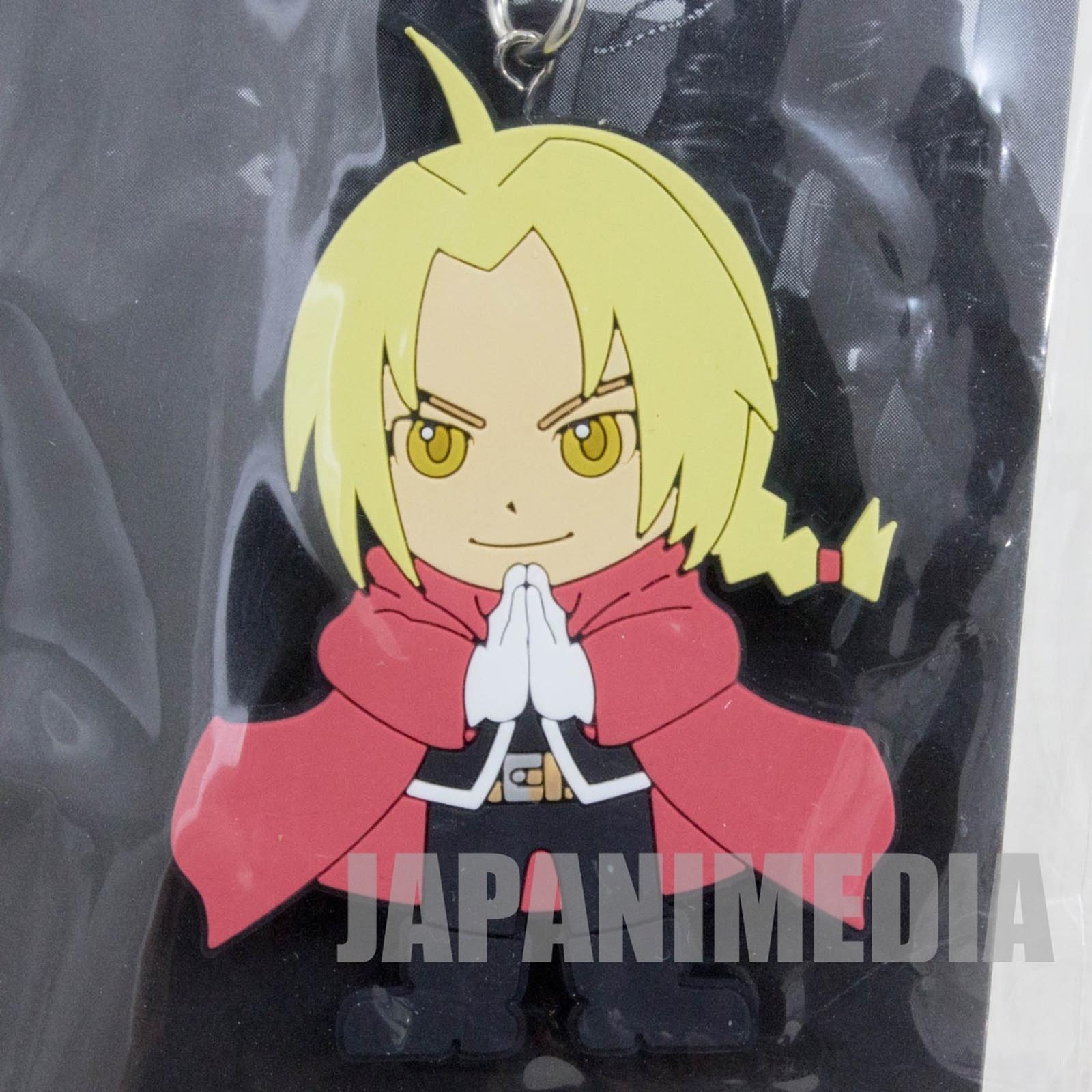 FullMetal Alchemist Movie 2011 Edward Elric Rubber Mascot Strap JAPAN
