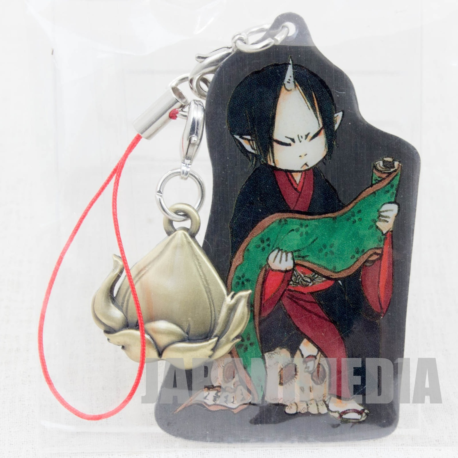 Hoozuki no Reitetsu Hozuki Metal Plate Mascot Strap JAPAN ANIME MANGA