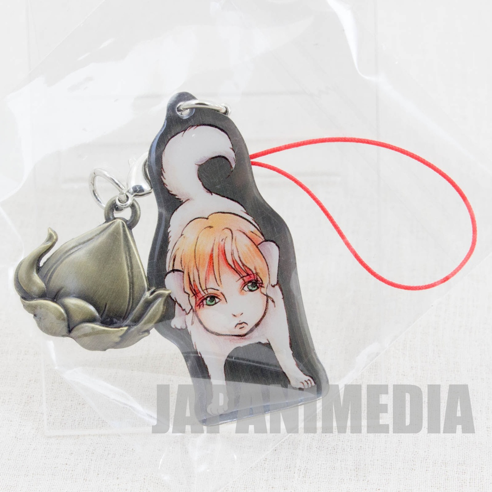Hoozuki no Reitetsu Jinmen-ken Metal Plate Mascot Strap JAPAN ANIME MANGA