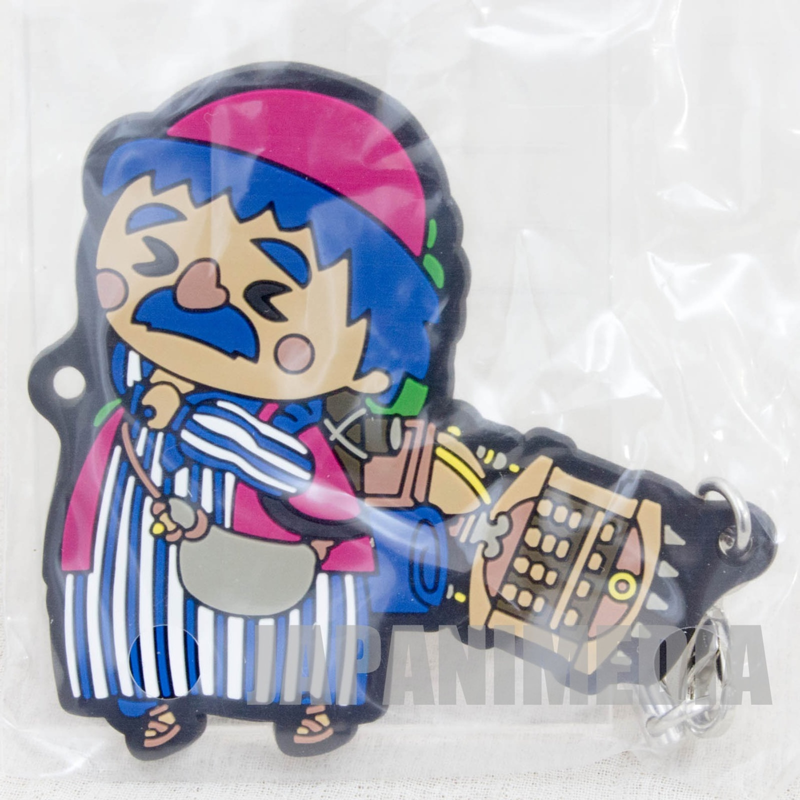 Dragon Quest Theatrhythm Rubber Charm Strap Torneko JAPAN GAME WARRIOR