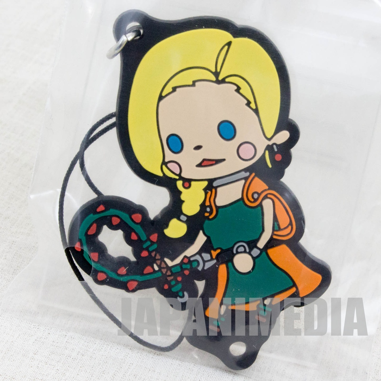 Dragon Quest Theatrhythm Rubber Charm Strap Bianca JAPAN GAME WARRIOR