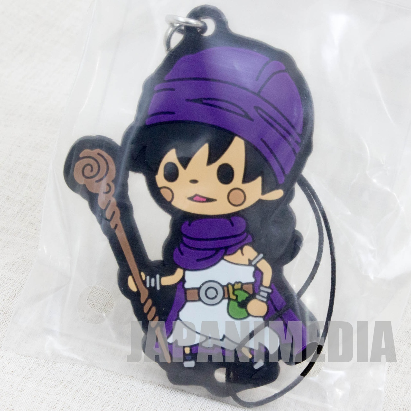 Dragon Quest Theatrhythm Rubber Charm Strap Hero 5 JAPAN GAME WARRIOR