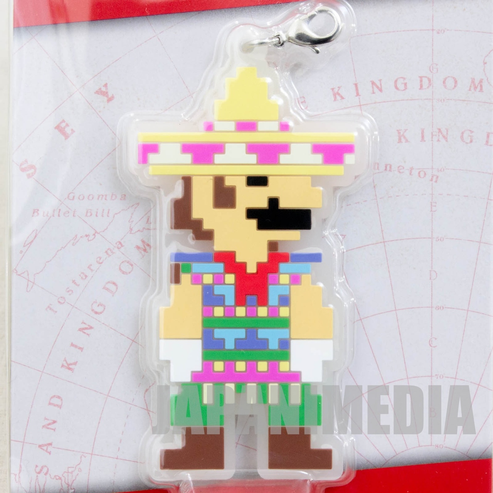 Super Mario Odyssey Rubber Charm Poncho Banpresto JAPAN NINTENDO SWITCH