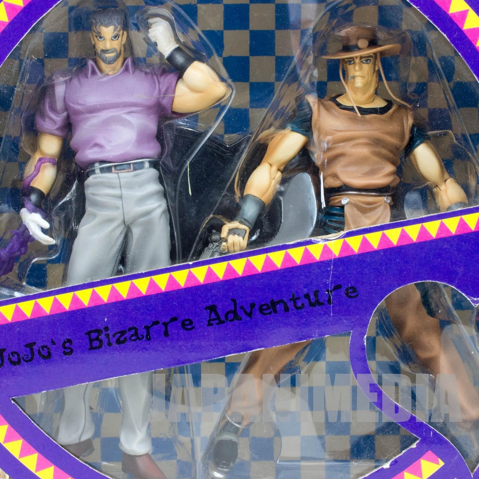 Jojo's Bizarre Adventure Joseph Joestar & Hol Horse Figure ARTFX JAPAN
