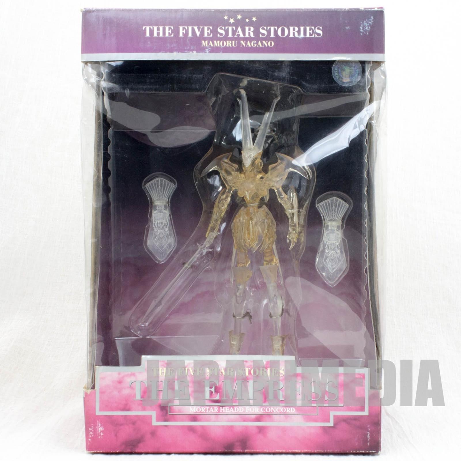 RARE Five Star Stories The Empress Figure Clear Ver. JAPAN FSS Kaiyodo