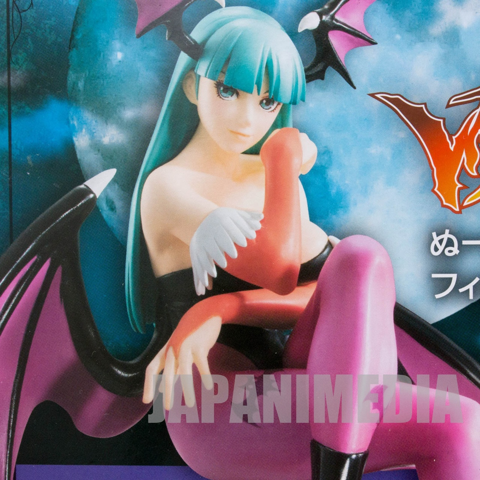 Darkstalkers (Vampire) MORRIGAN Noodle Stopper Figure 1P Color JAPAN GAME