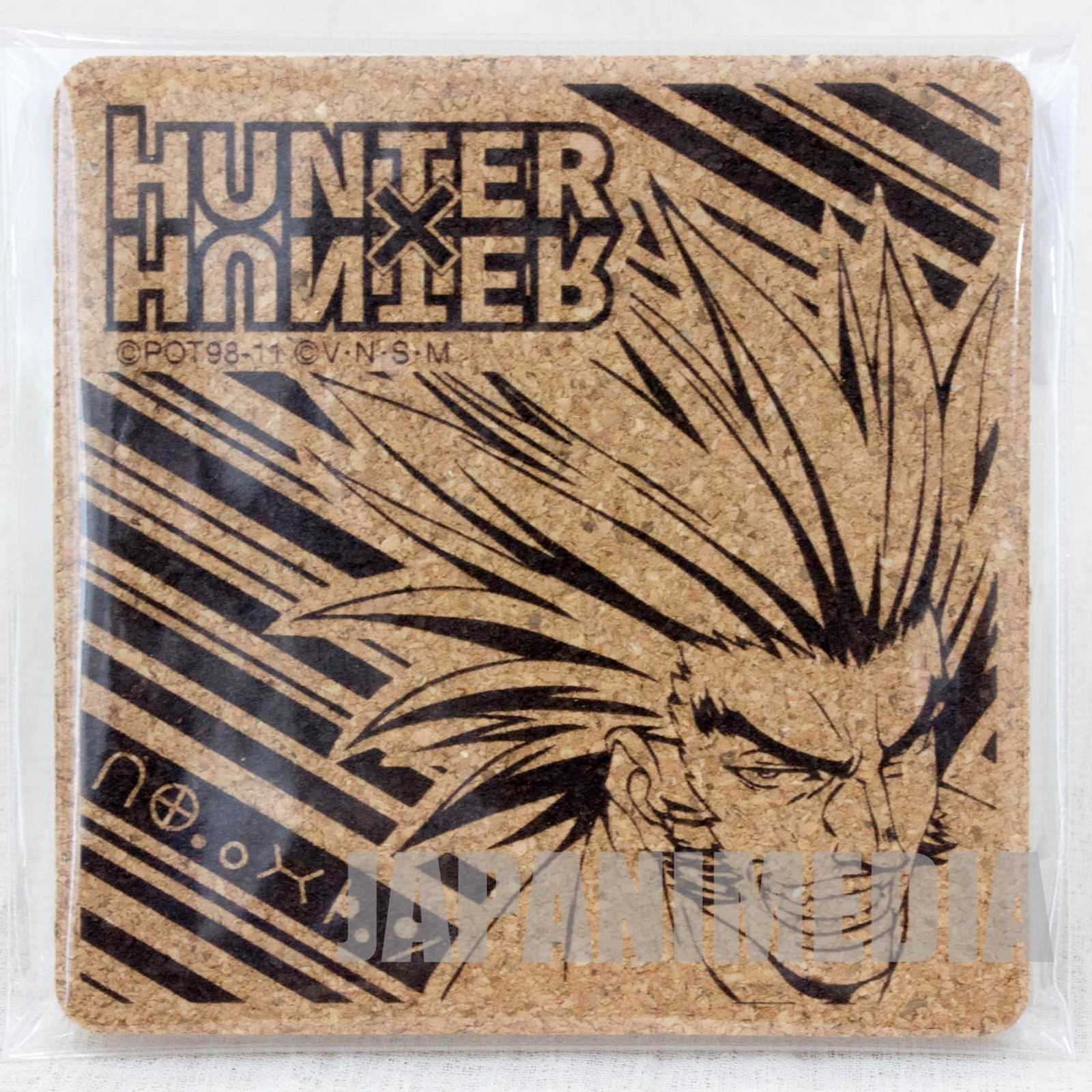 RARE! HUNTER x HUNTER Uvogin Cork Coaster JAPAN ANIME MANGA SHONEN JUMP
