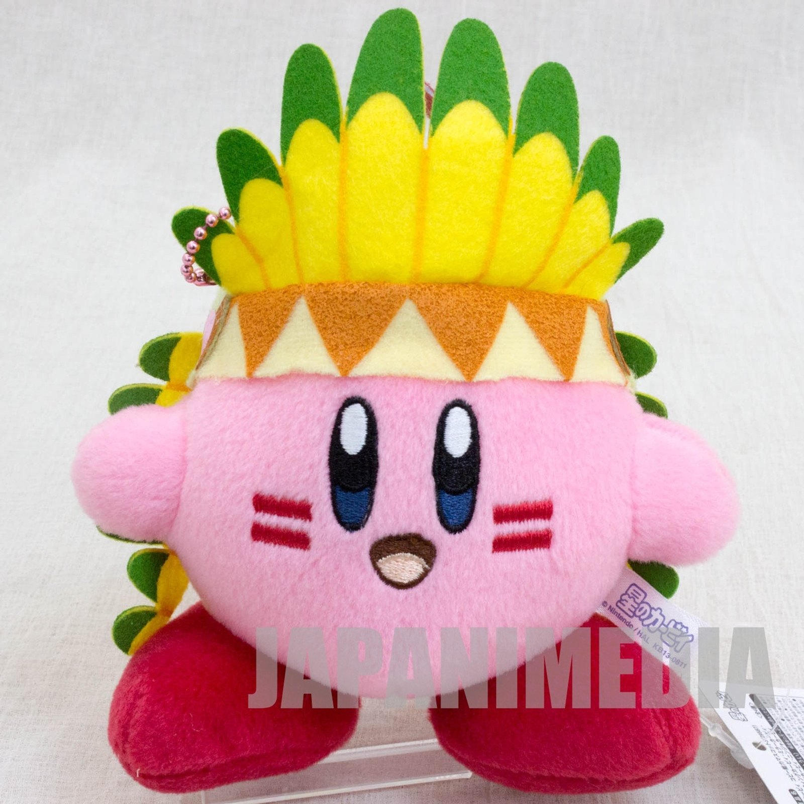 Kirby Super Star Wing Kirby Plush Doll Ballchain Banpresto JAPAN GAME NINTNEDO