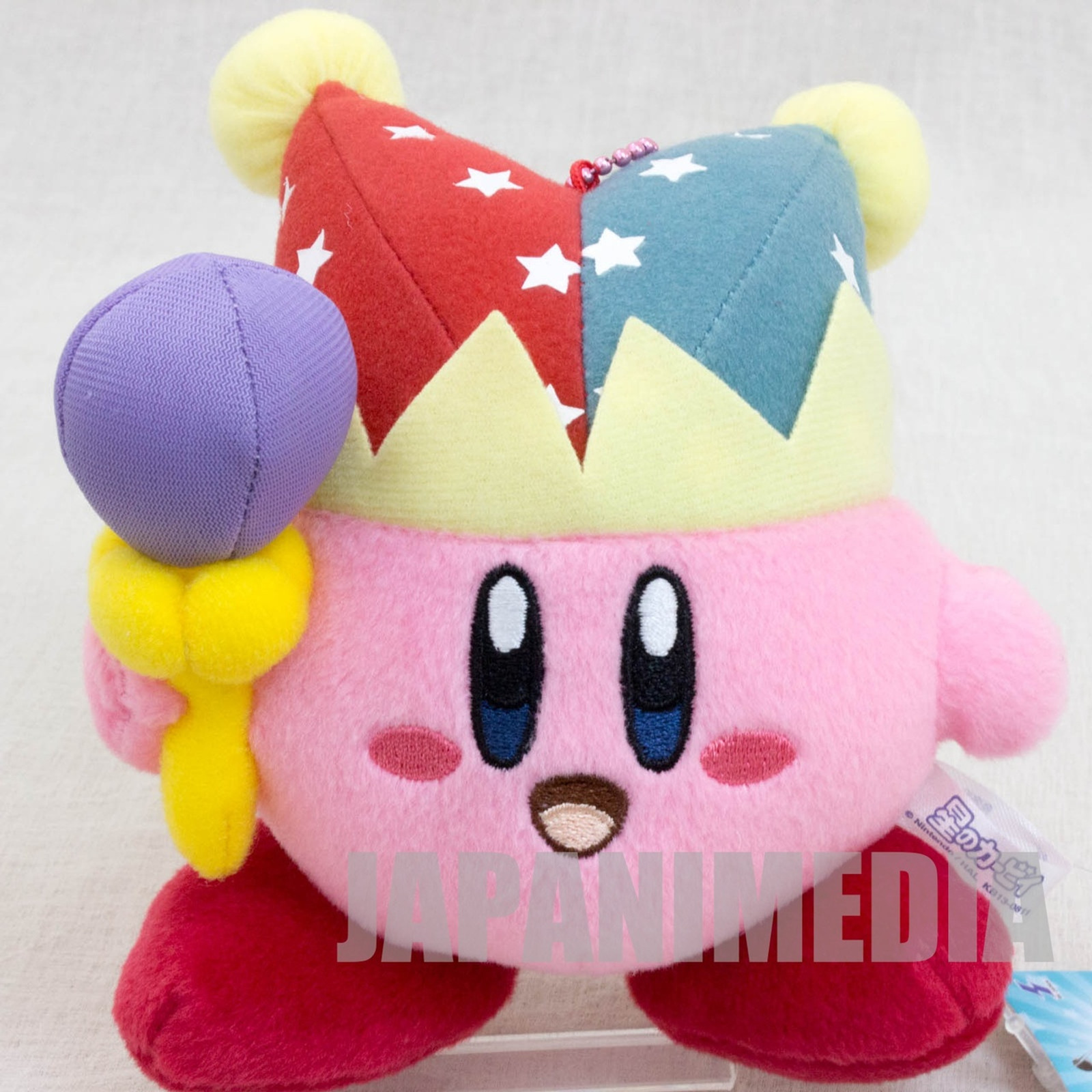 Kirby Super Star Mirror Kirby Plush Doll Ballchain Banpresto JAPAN GAME NINTNEDO