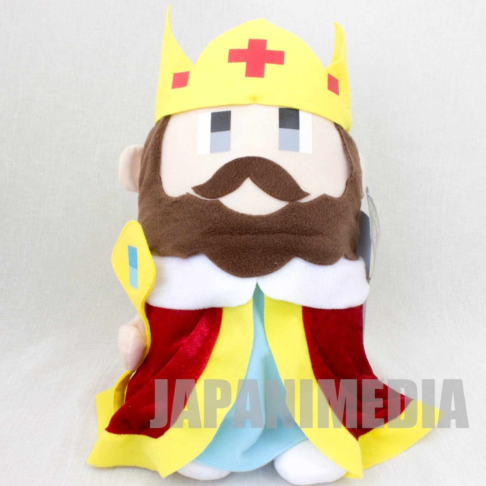 "Game Center CX King 15"" Big Size Plush Doll JAPAN ARINO KACHO"