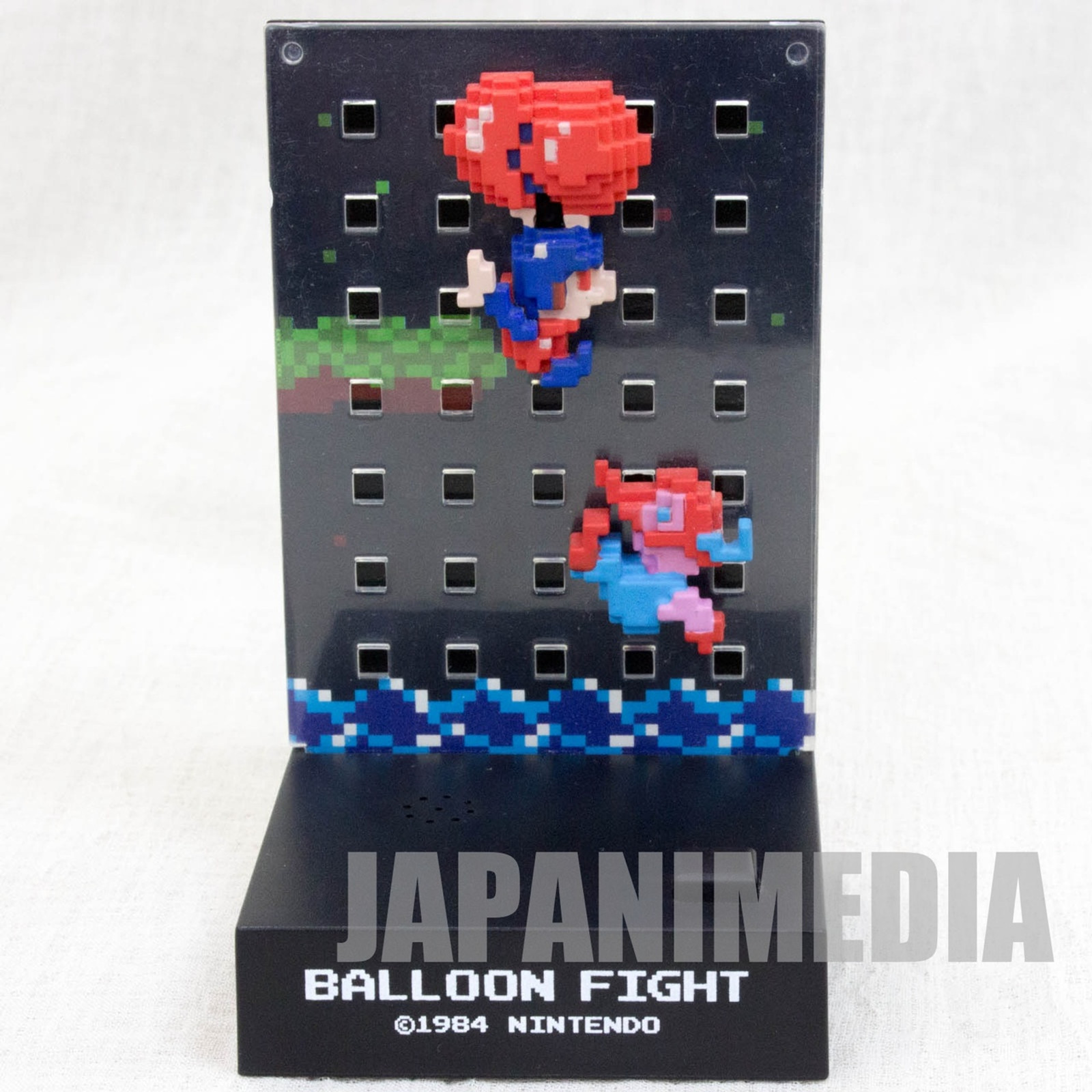 Nintendo Dotgraphics Balloon Fight Figure with Game Sound JAPAN FAMICOM