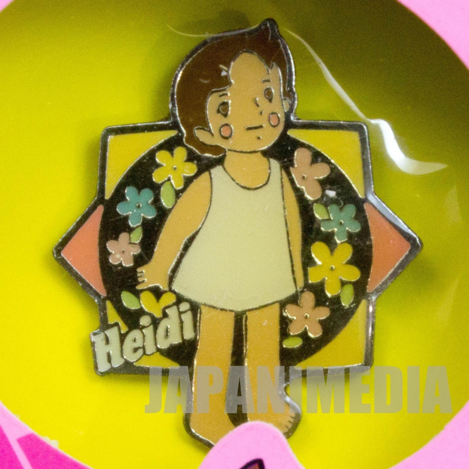 Heidi Girl of the Alps Cute Pins Kabaya JAPAN ANIME #8