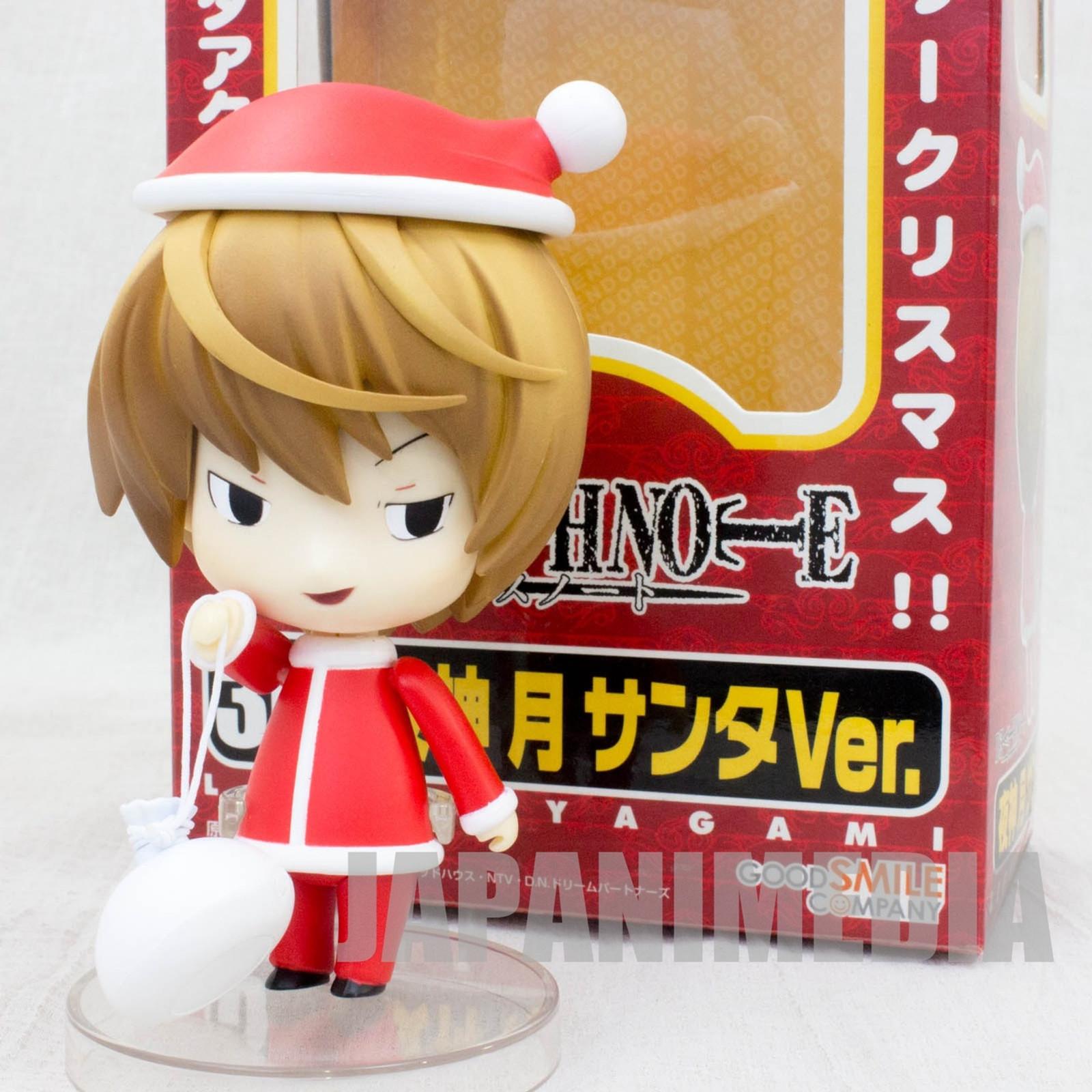 Death Note Tagami Light Figure Santa Cosplay Nendroid JAPAN ANIME JUMP